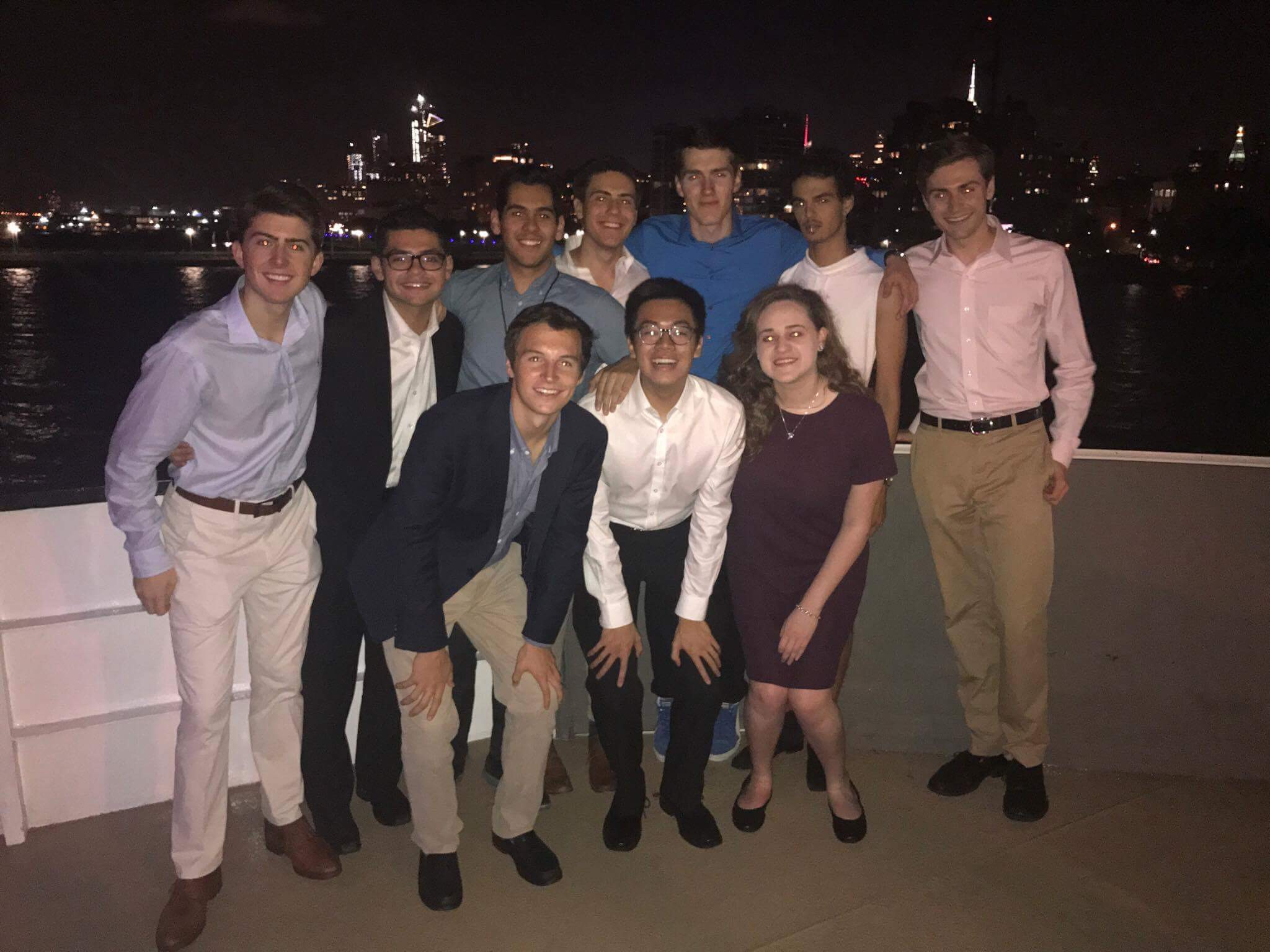 HUBBS members at Out for Undergrad Business Conference (OUBC) in New York, Fall 2017