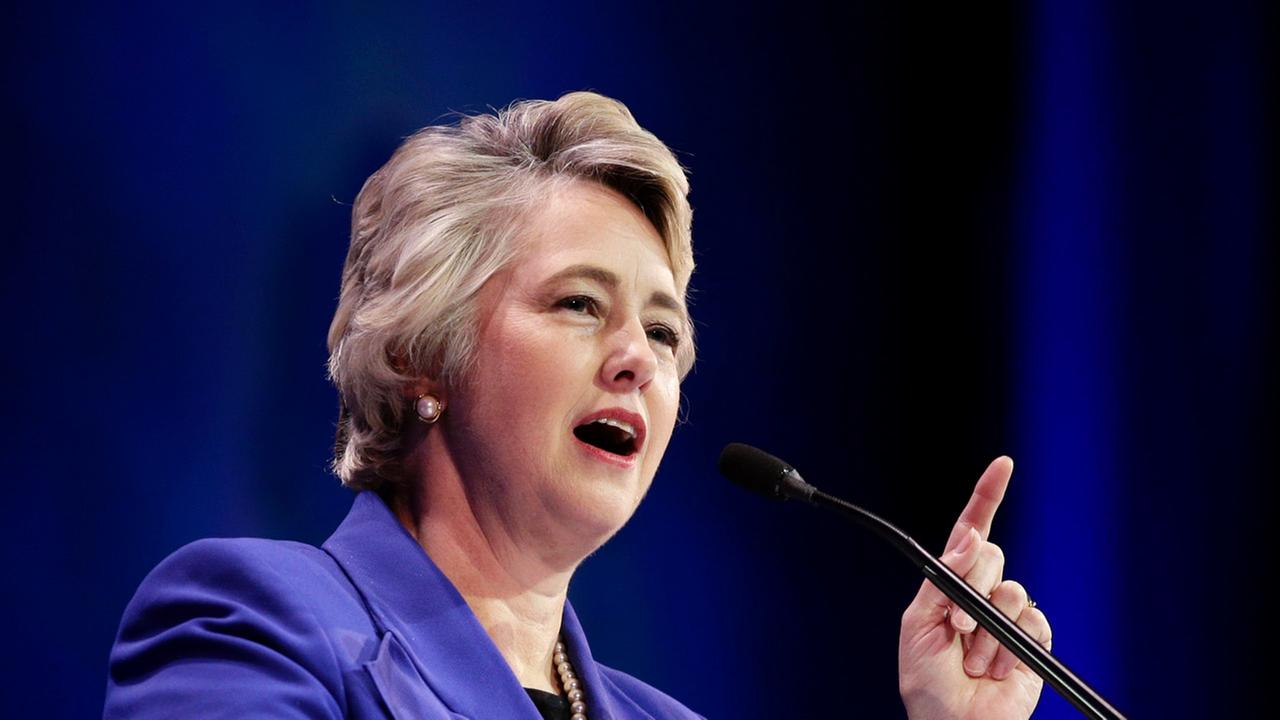 Former Houston Mayor Annise Parker, a 2016 HUBBS Guest Speaker