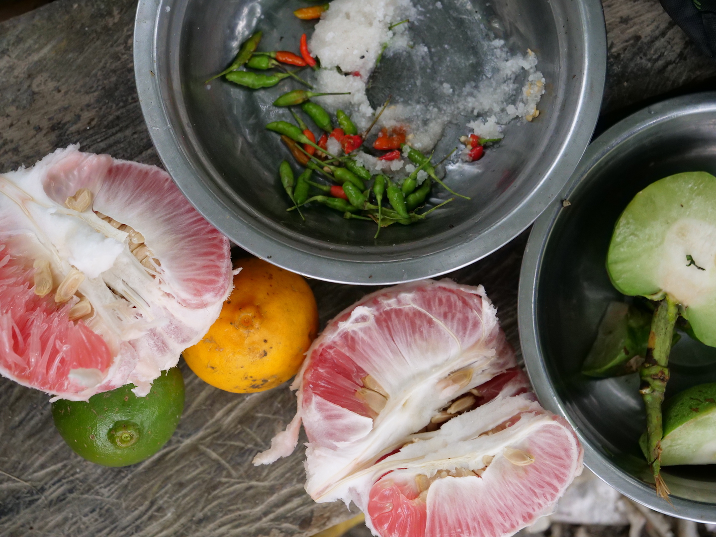Fresh Fruit from the Forests of Indawgyi -