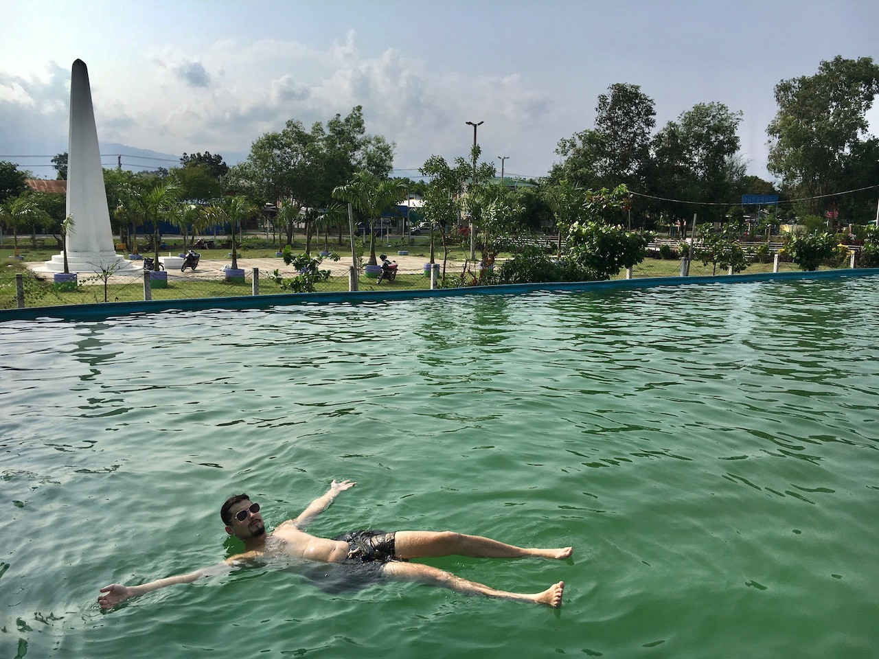 Enjoying the public pool at Sein Lae Tharyar Park will set you back 200 kyats.