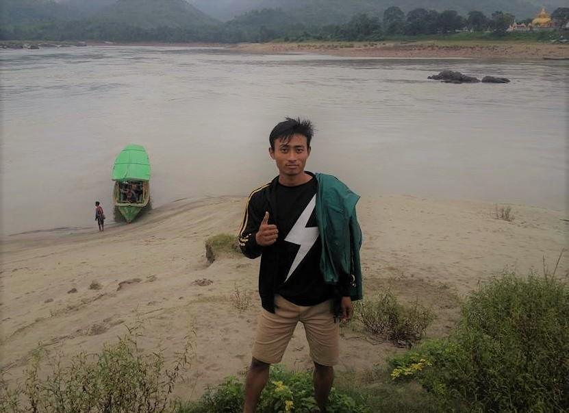 Sut Mai Aung at Myitsone, Kachin