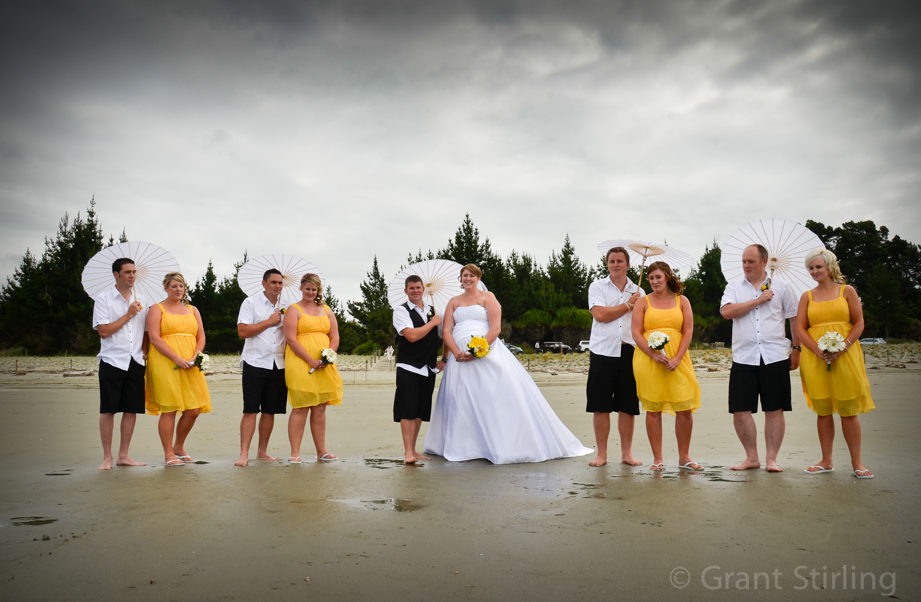 Wedding photography by Grant Stirling