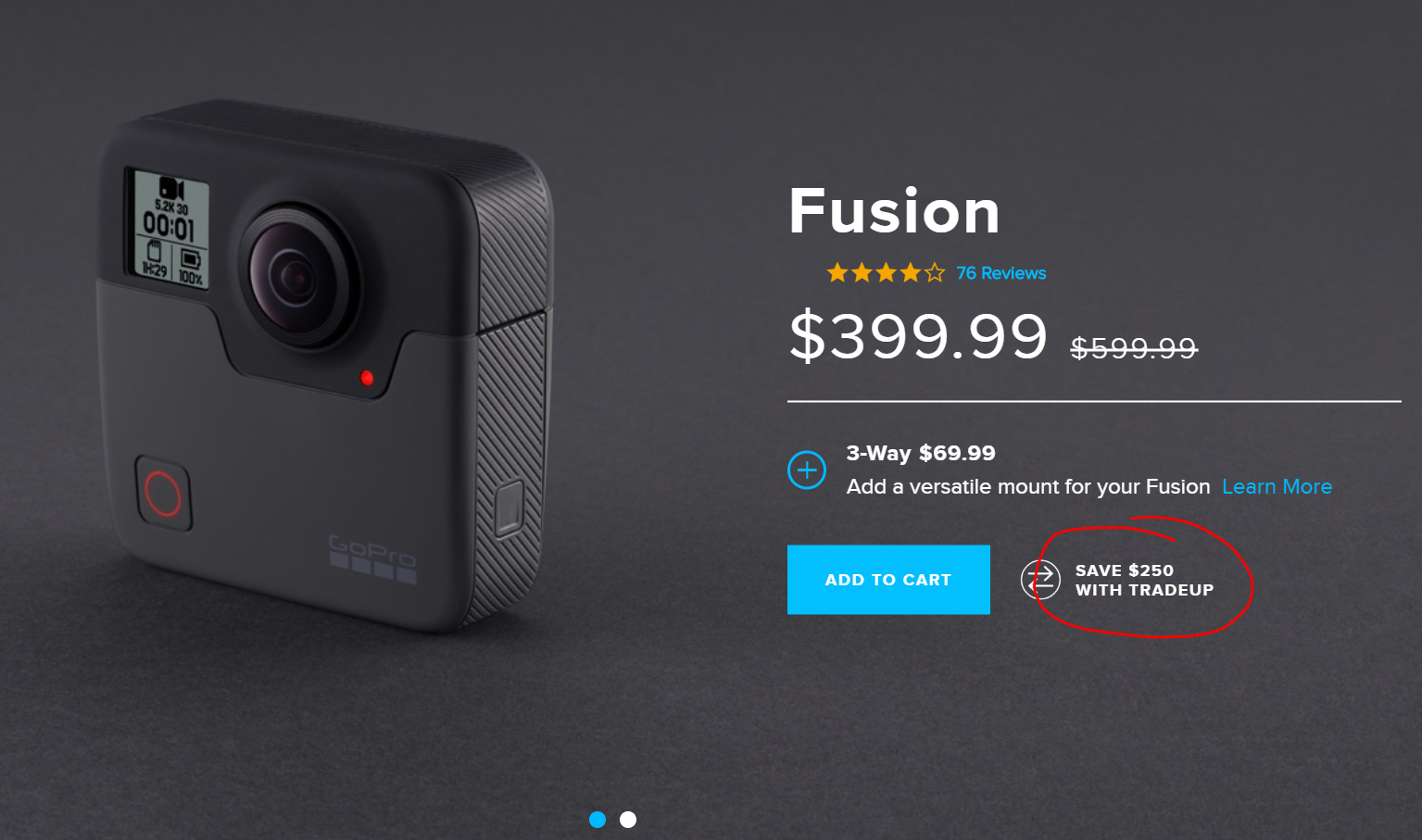 GoPro+Fusion+Pricing+TradeUp+Deal+Ripoff+Scam