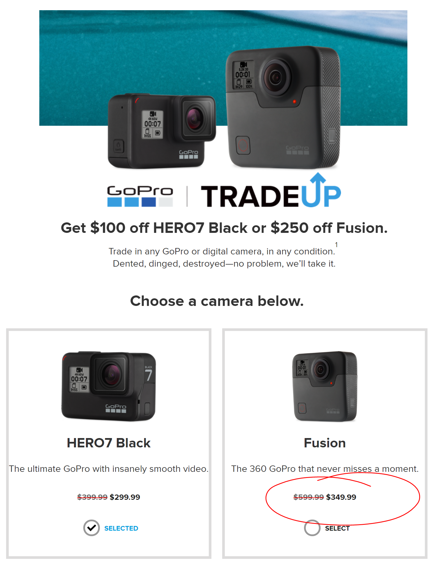 gopro+tradeup+fusion+actual+price+bait+and+switch