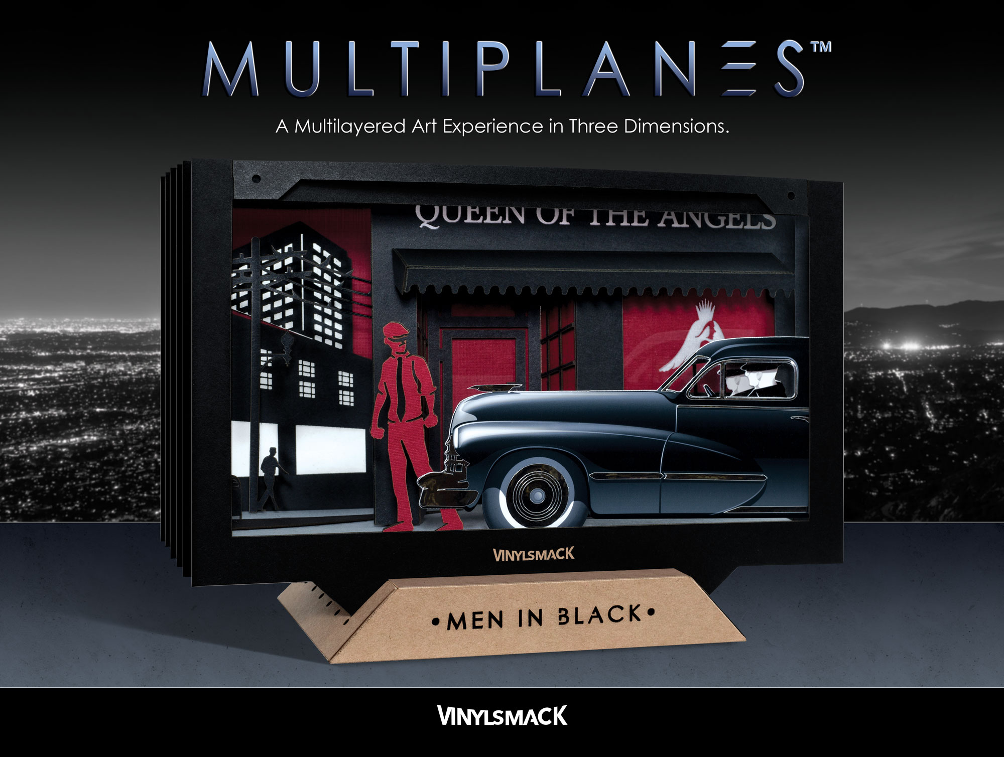 The Men In Black - Package Front