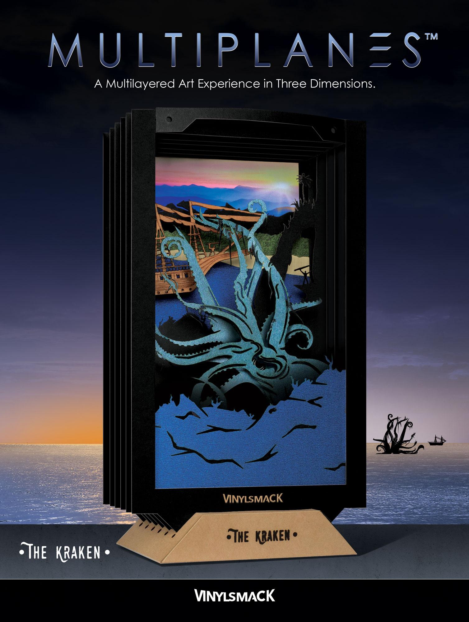 The Kraken - Package Front
