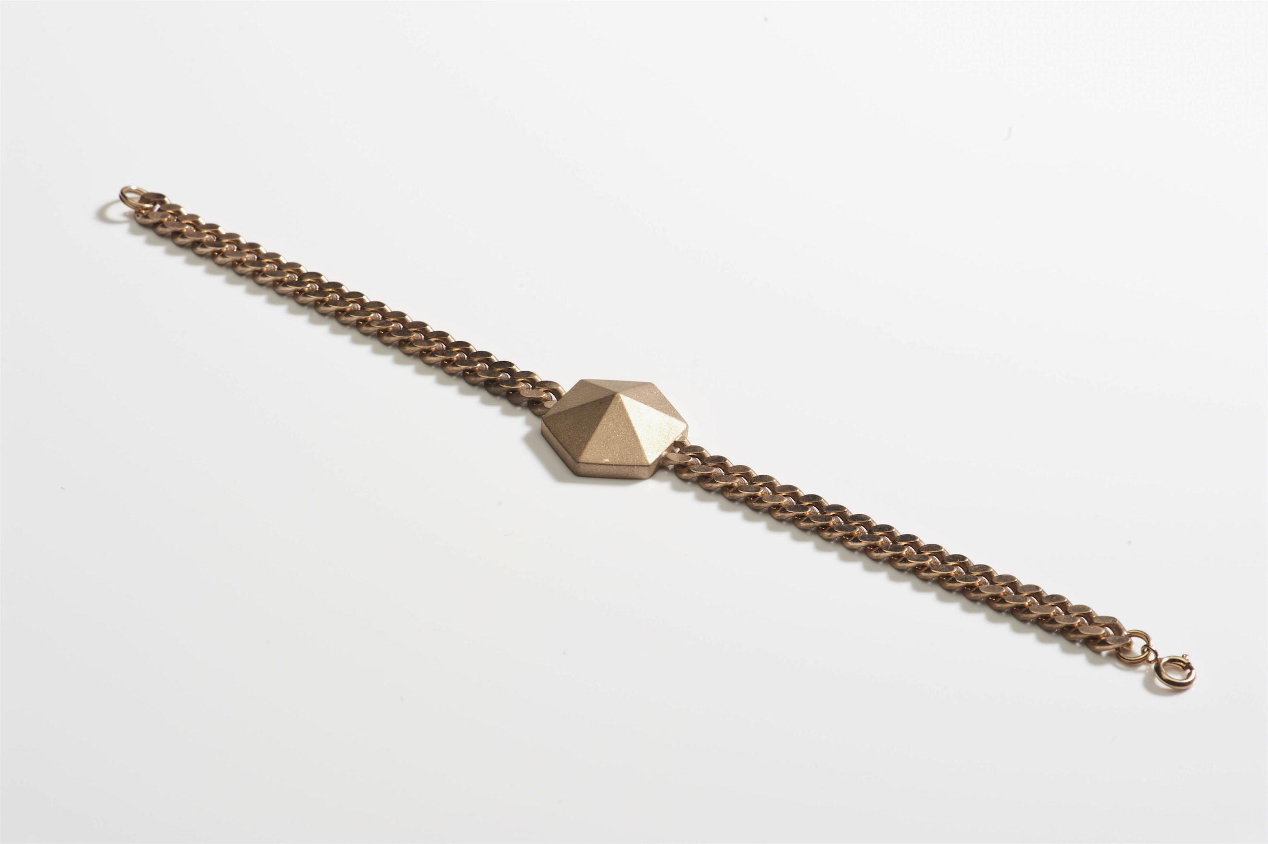 bracelet silver rosegold plated flat curb chain.jpg