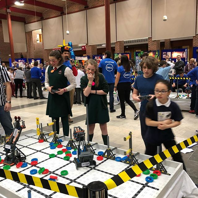 So close.... #vexrobotics #vexroboticscompetition #computerscience #it #ireland #cork #robots #science #codding