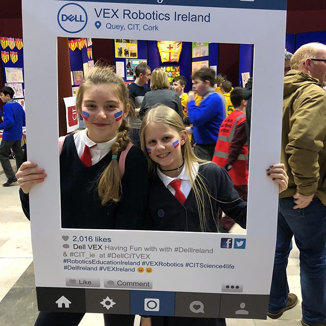"Some ""Instagram Frame"" photos #DellCITVEX #VEXIreland #VEXRobotics #RoboticsEducationIreland"