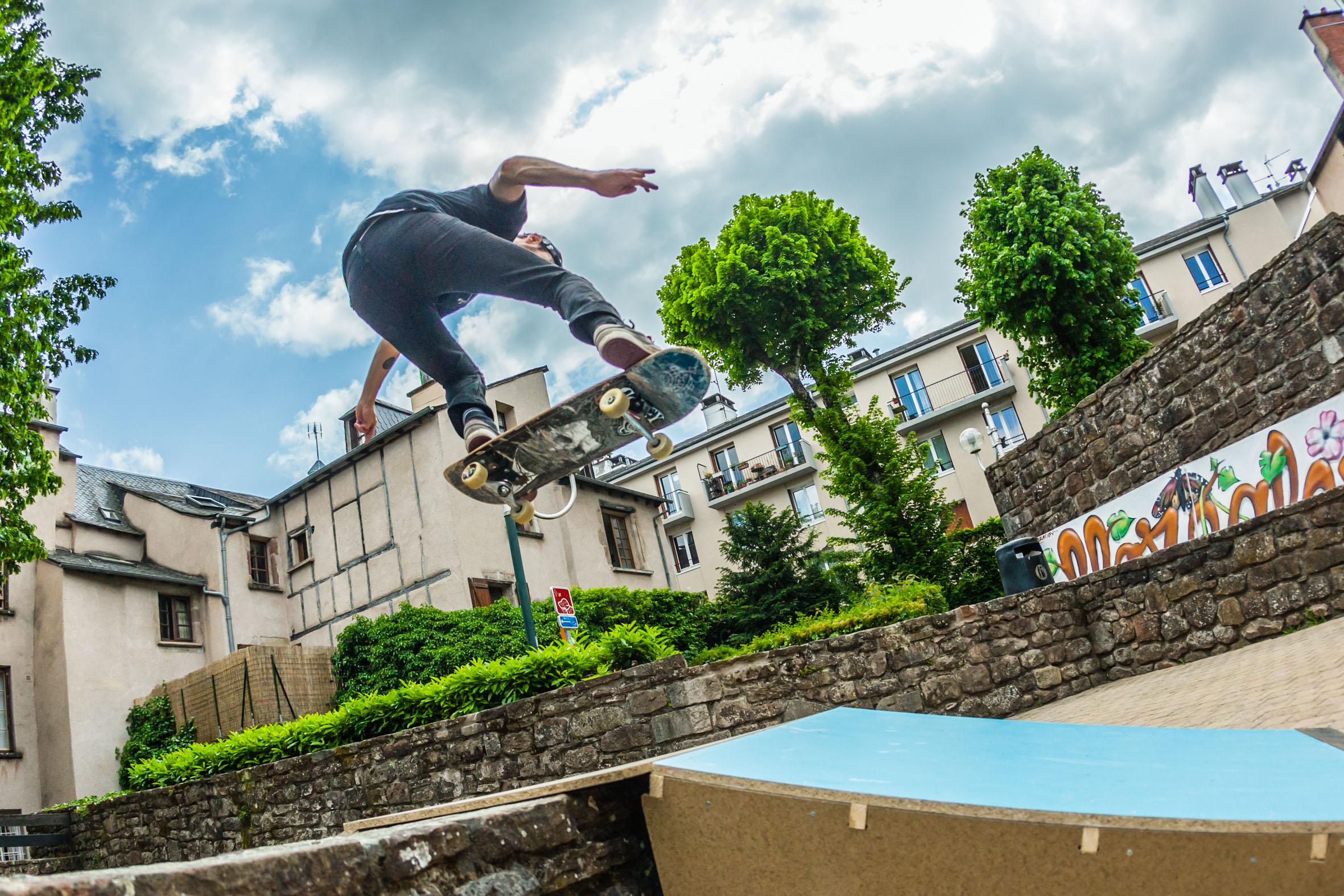 Skatepark éphémère