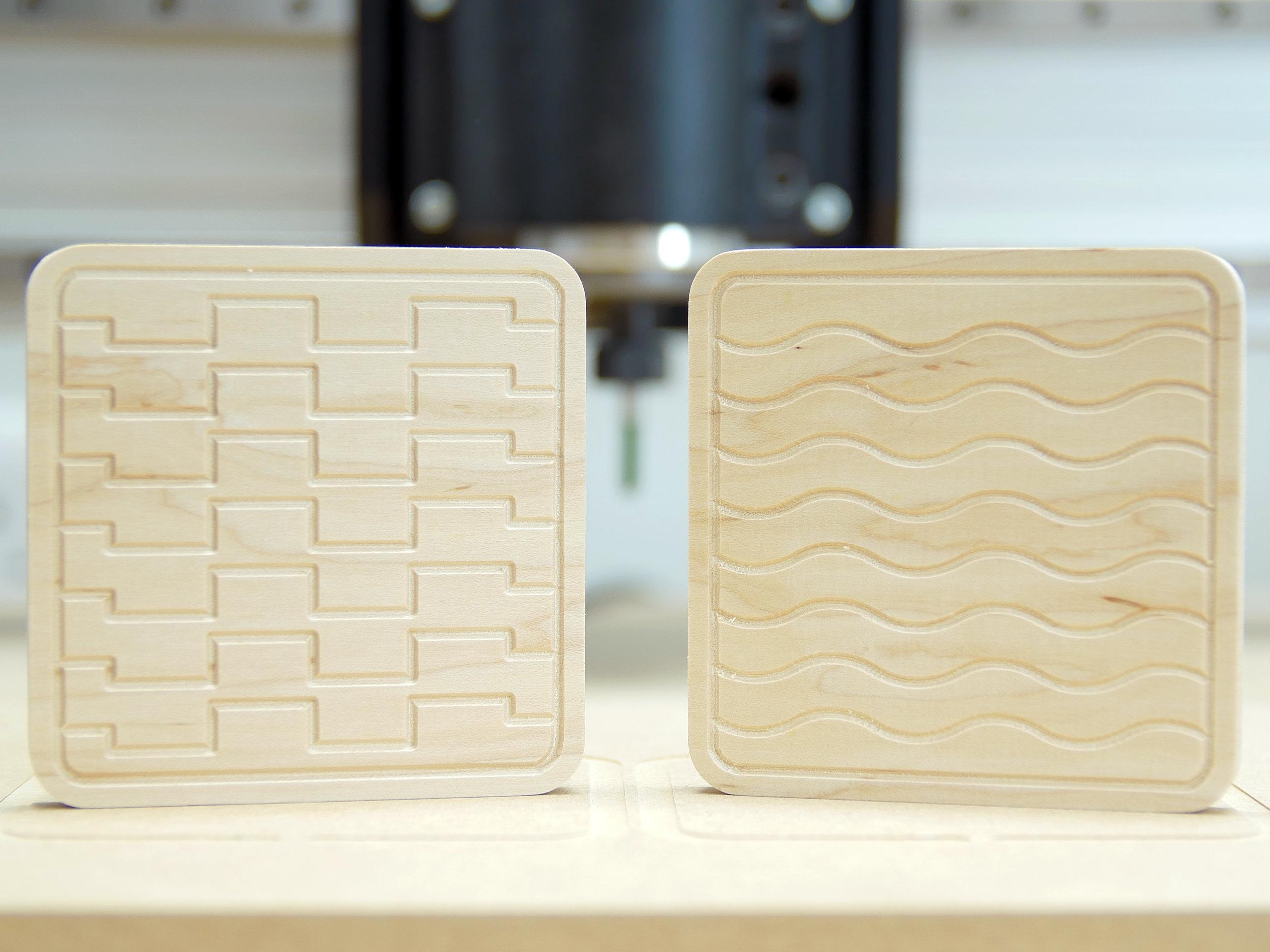 10mm Maple Coasters