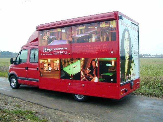 Motorised vehicle adaptions   Exhibition Trailers   Promotional Vehicles