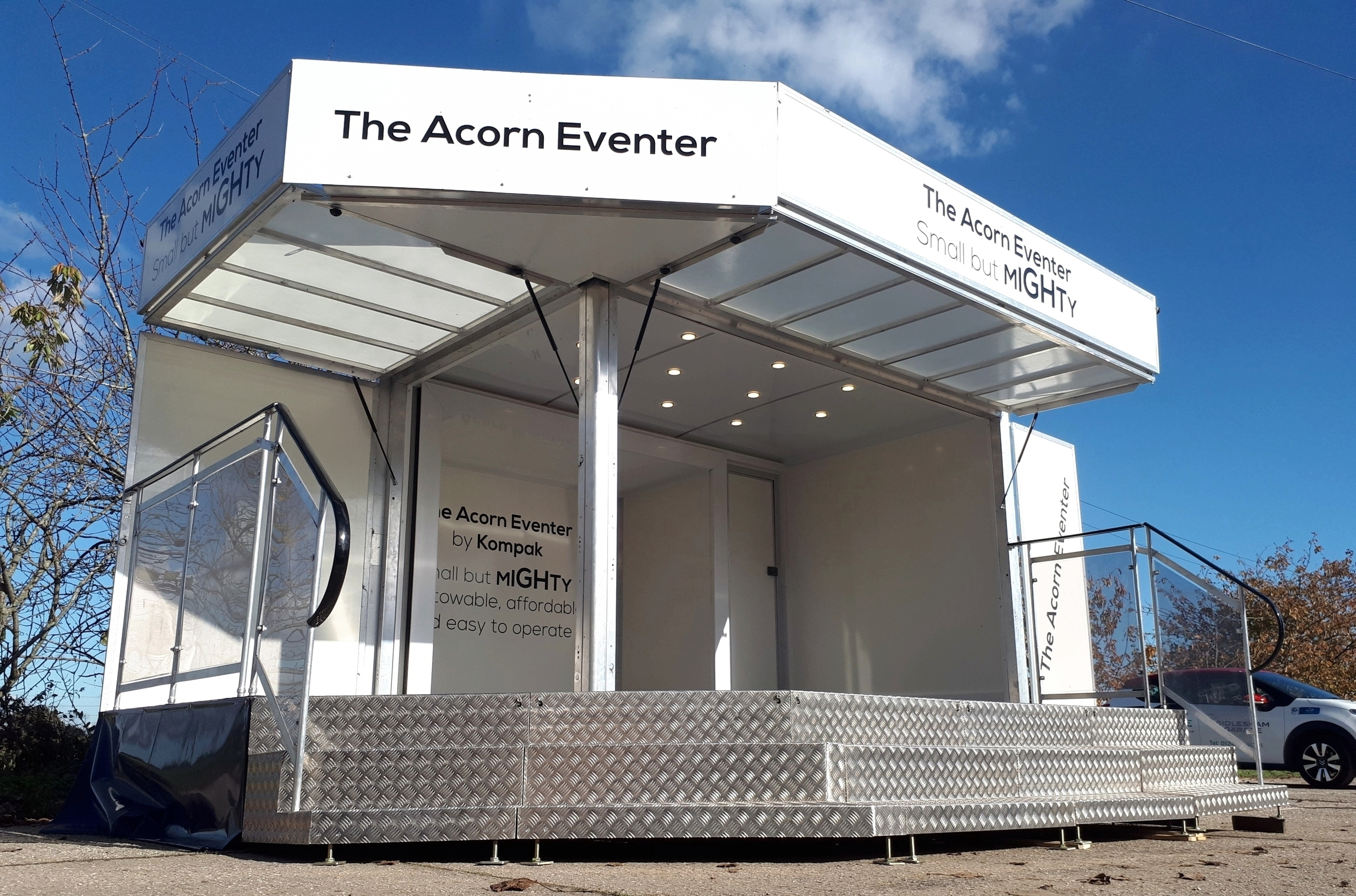 Exhibition trailers | Display Trailers | Promotional Vehicles | promotional trucks | exhibition events