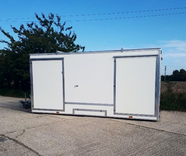 Mobile information unit | Mobile information trailer | Exhibition trailer | Exhibition trailers | Display unit | Tourist information trailer