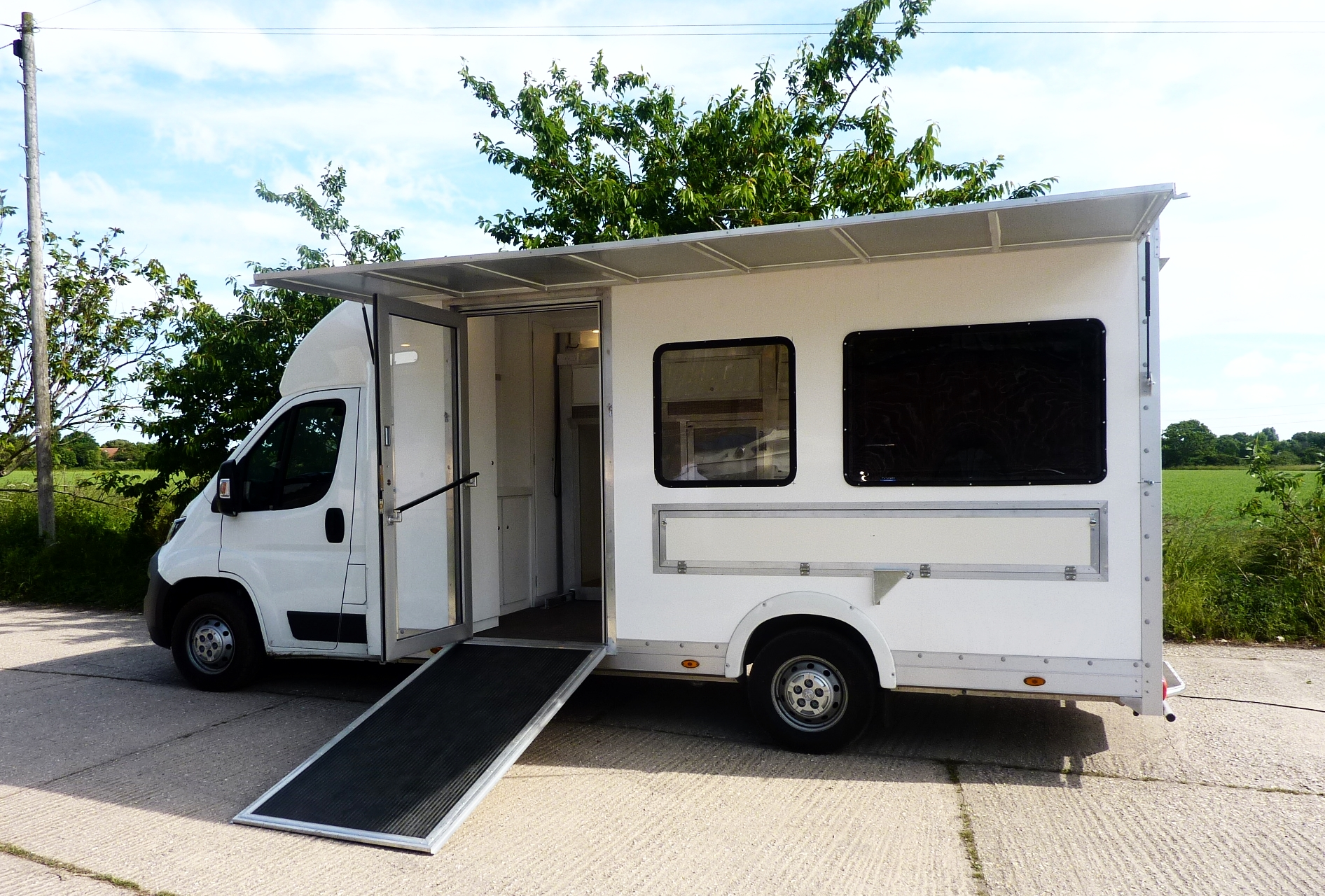   Exhibition trailer   Display Truck   Exhibition vehicle   Truck   Motorised display unit   Promotional truck