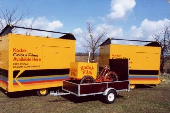 From promotional vehicles - Built by us more than 20 years ago