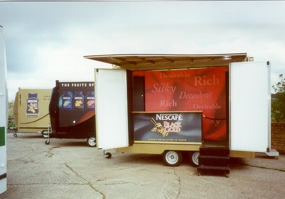 Exhibition trailer | Product Promotion | Product sampling vehicle | Marketing vehicle | Exhibition and Display truck | Promotional Truck