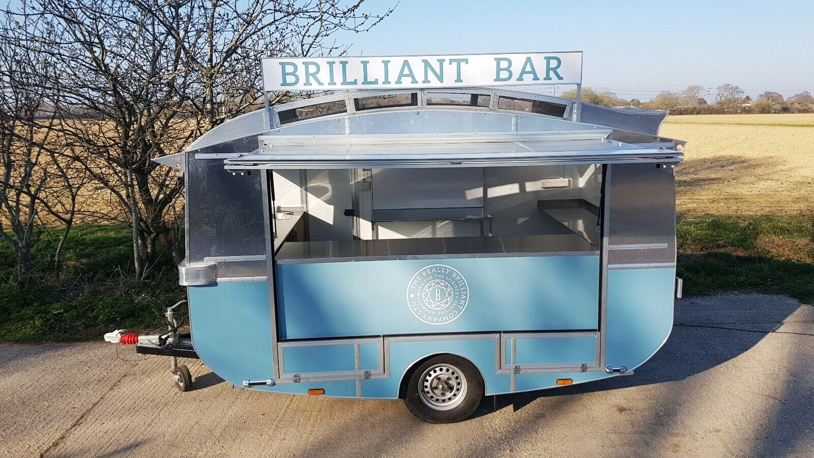 retro catering unit | exhibition trailer