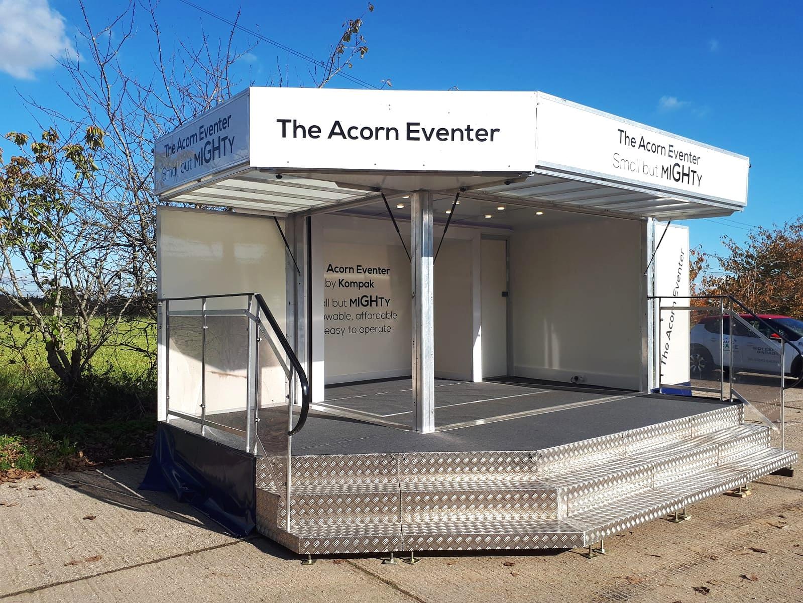 Exhibition trailer | marketing unit | promotional vehicle