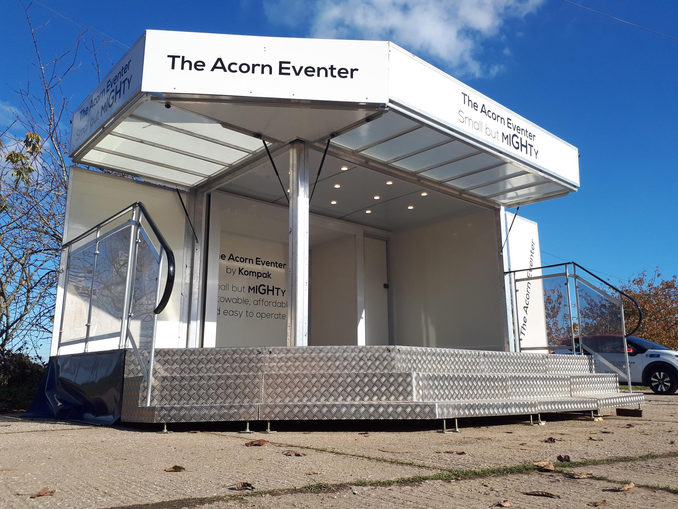exhibition trailer | retro catering unit