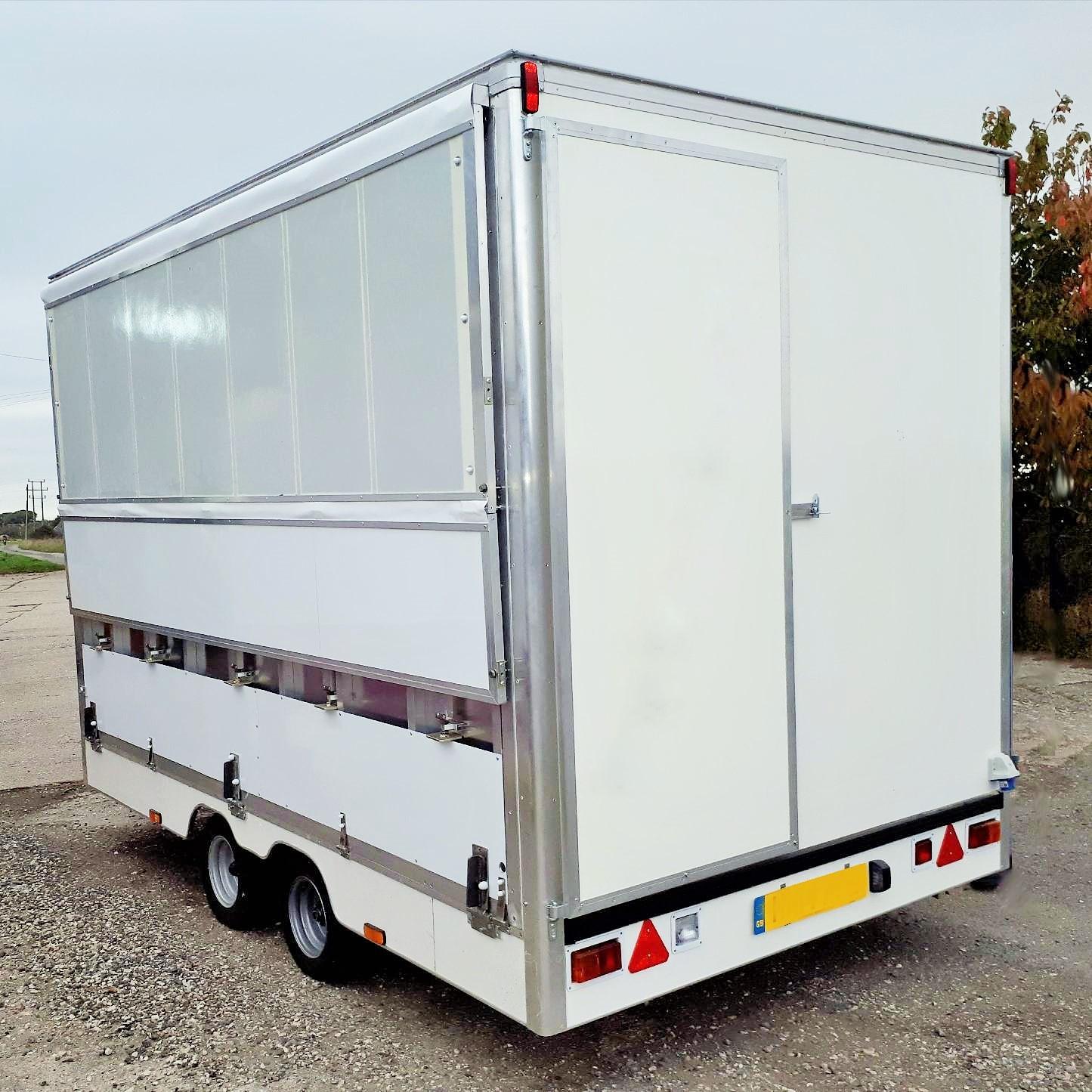 mobile exhibition unit | catering trailer |retro vintage catering