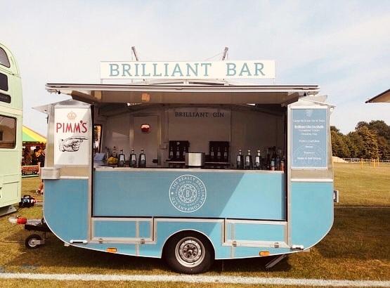 retro catering unit | exhibition trailer | mobile bar