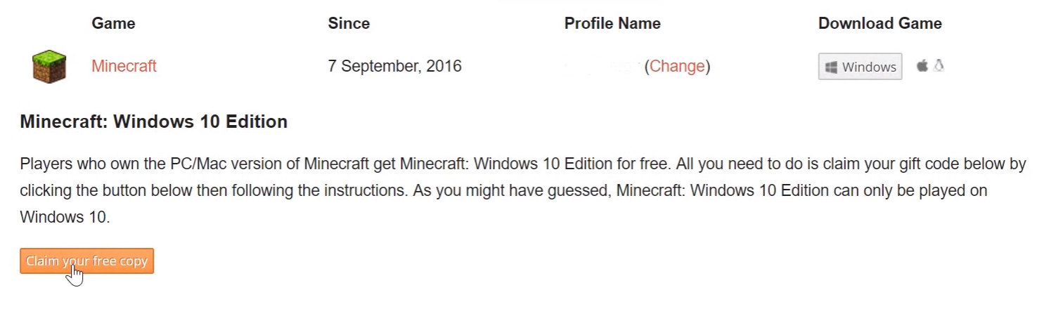 Noxcrew Get Minecraft Windows 10 Edition For Free