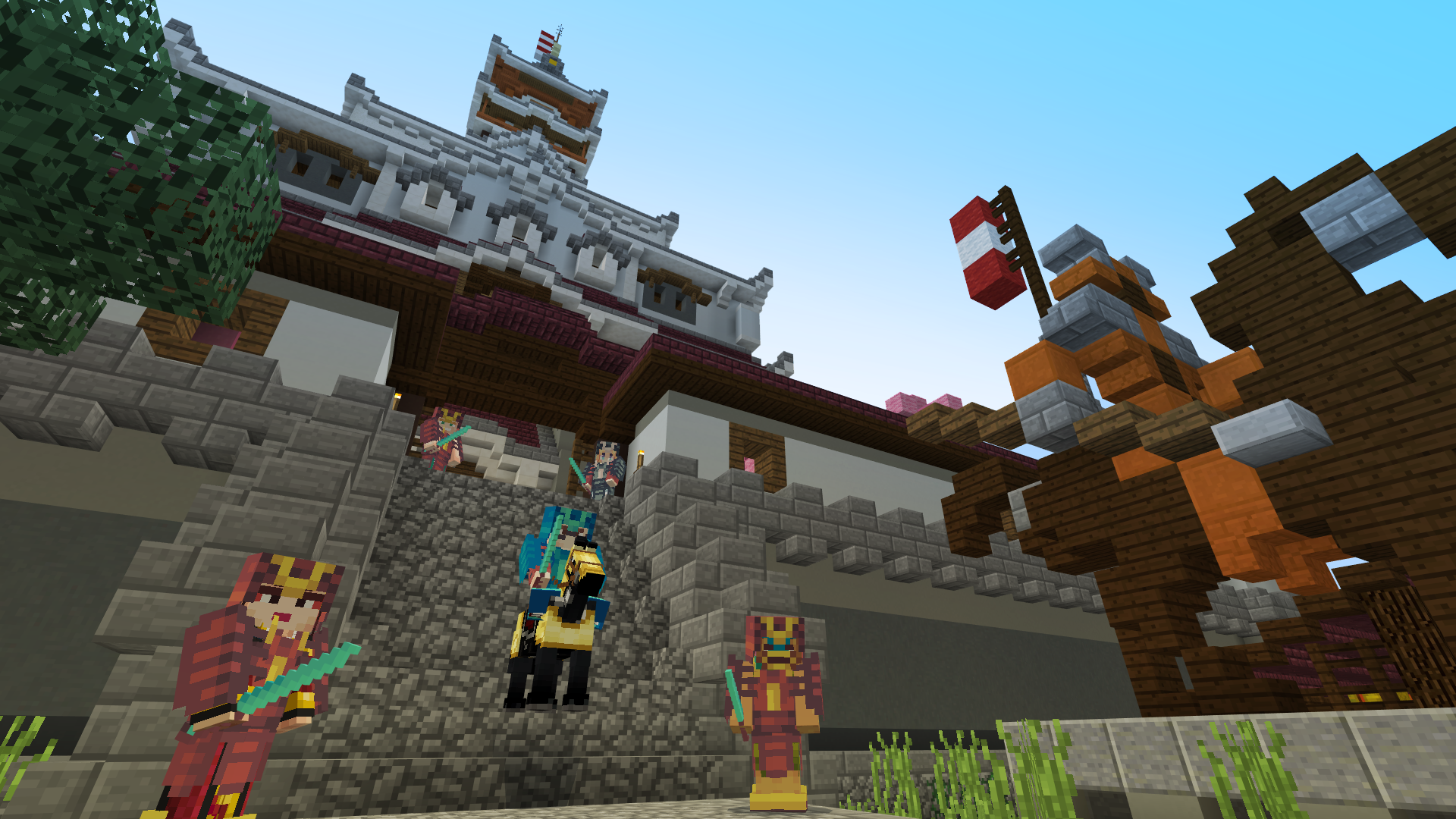Noxcrew | Ninjas VS Samurai