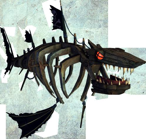 Alice: Madness Returns, 'Shipwreck Shark'