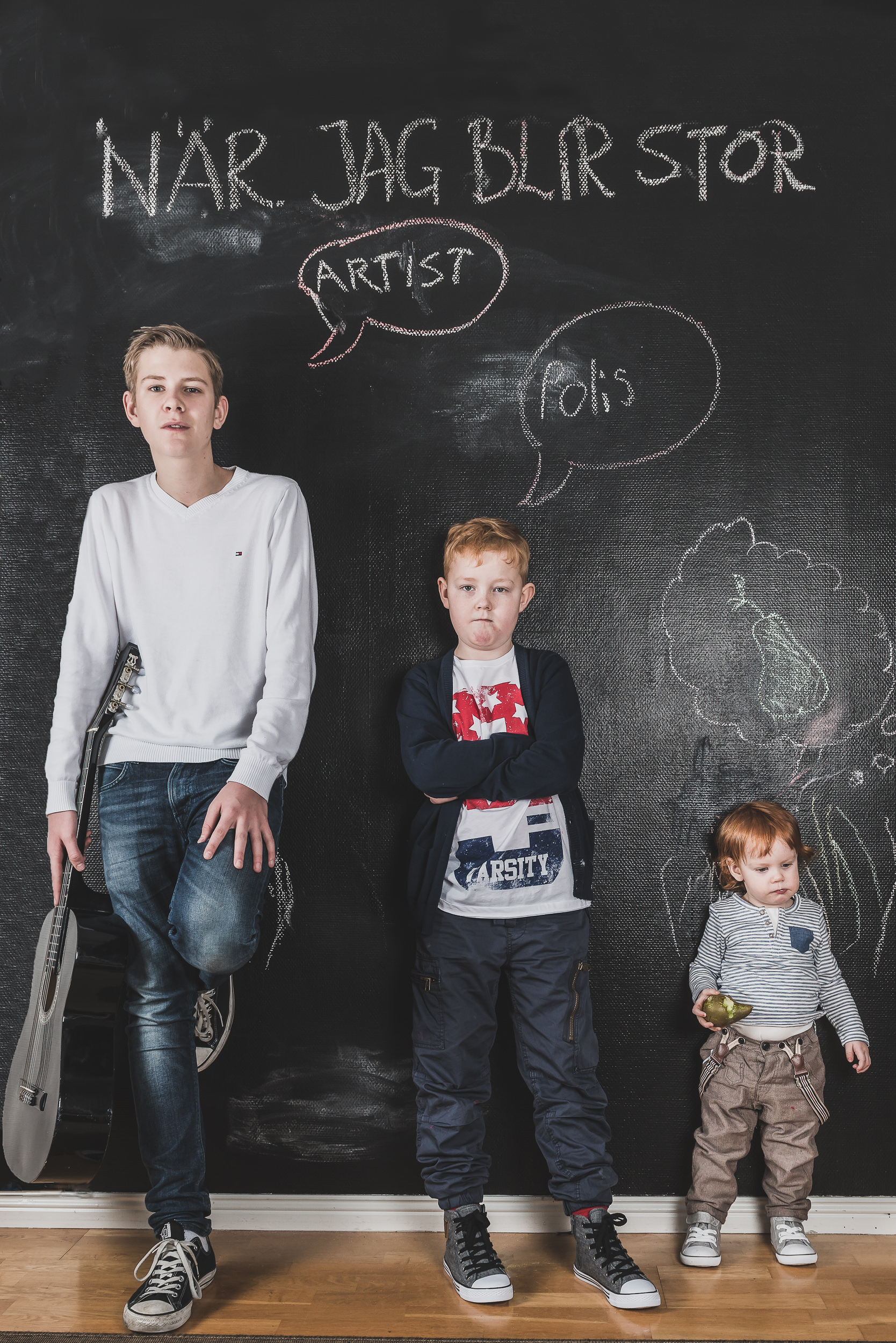 Familjefoto - Barn