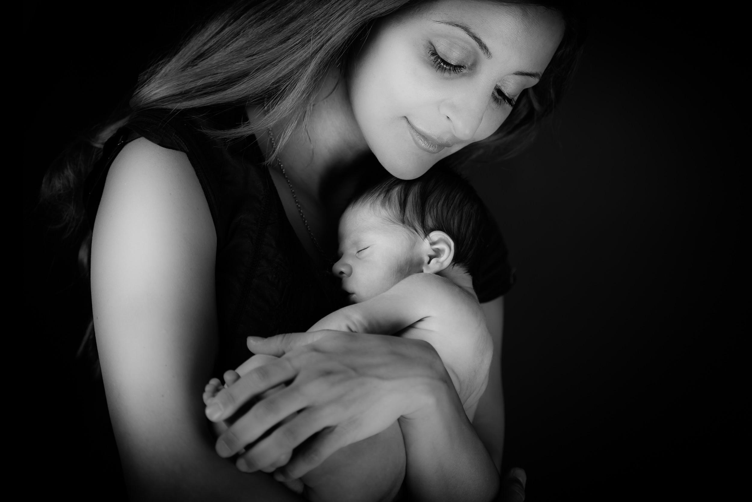 Familjefoto - Baby