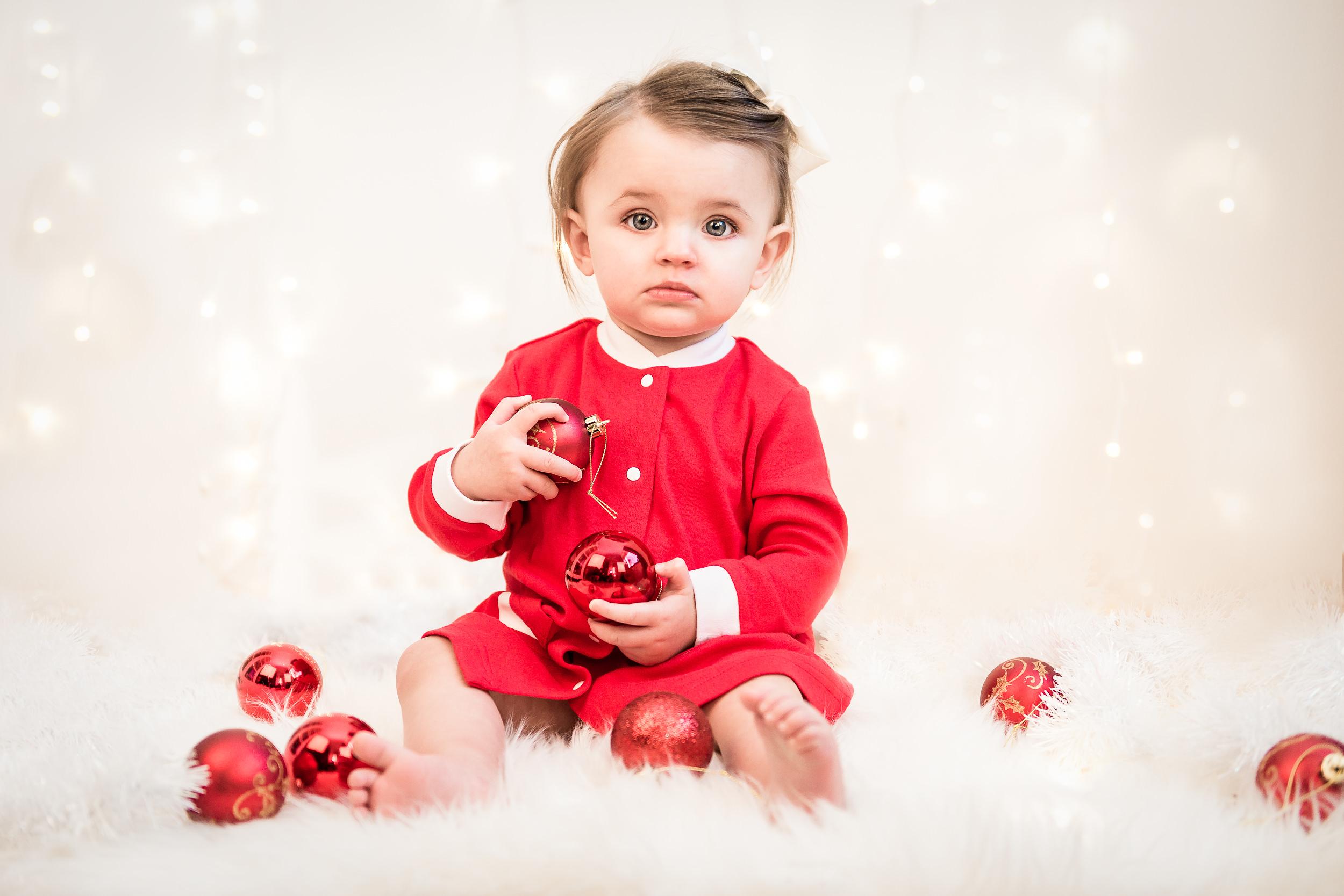 Familjefoto - Jul