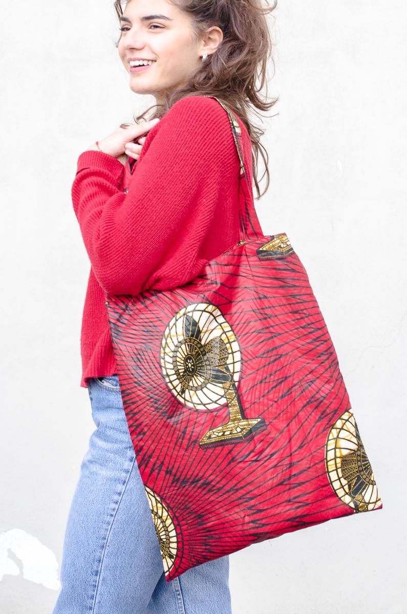 jasmine bag in red - 35 euro