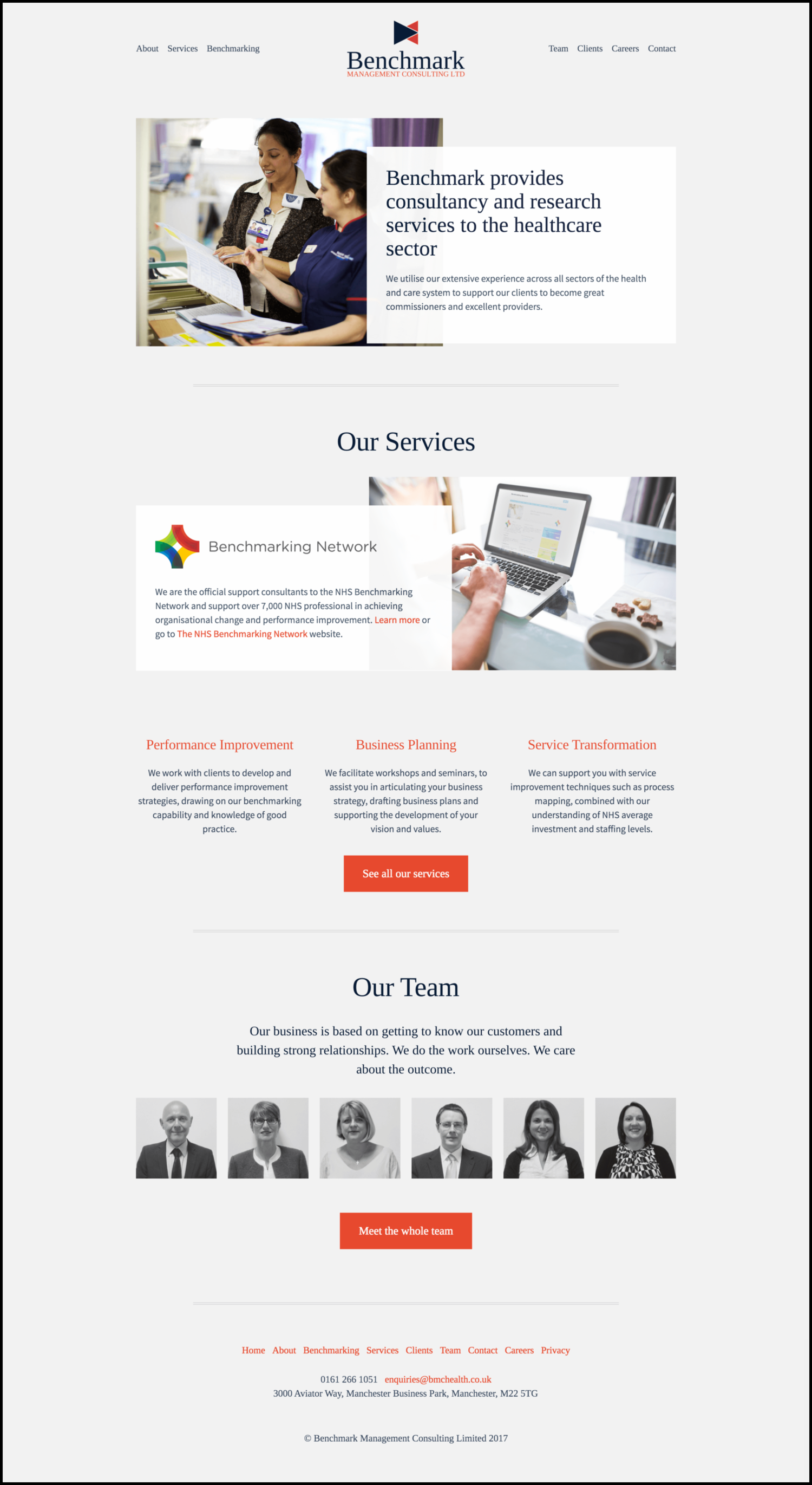 The new BMC home-page design. Click here to see it live.