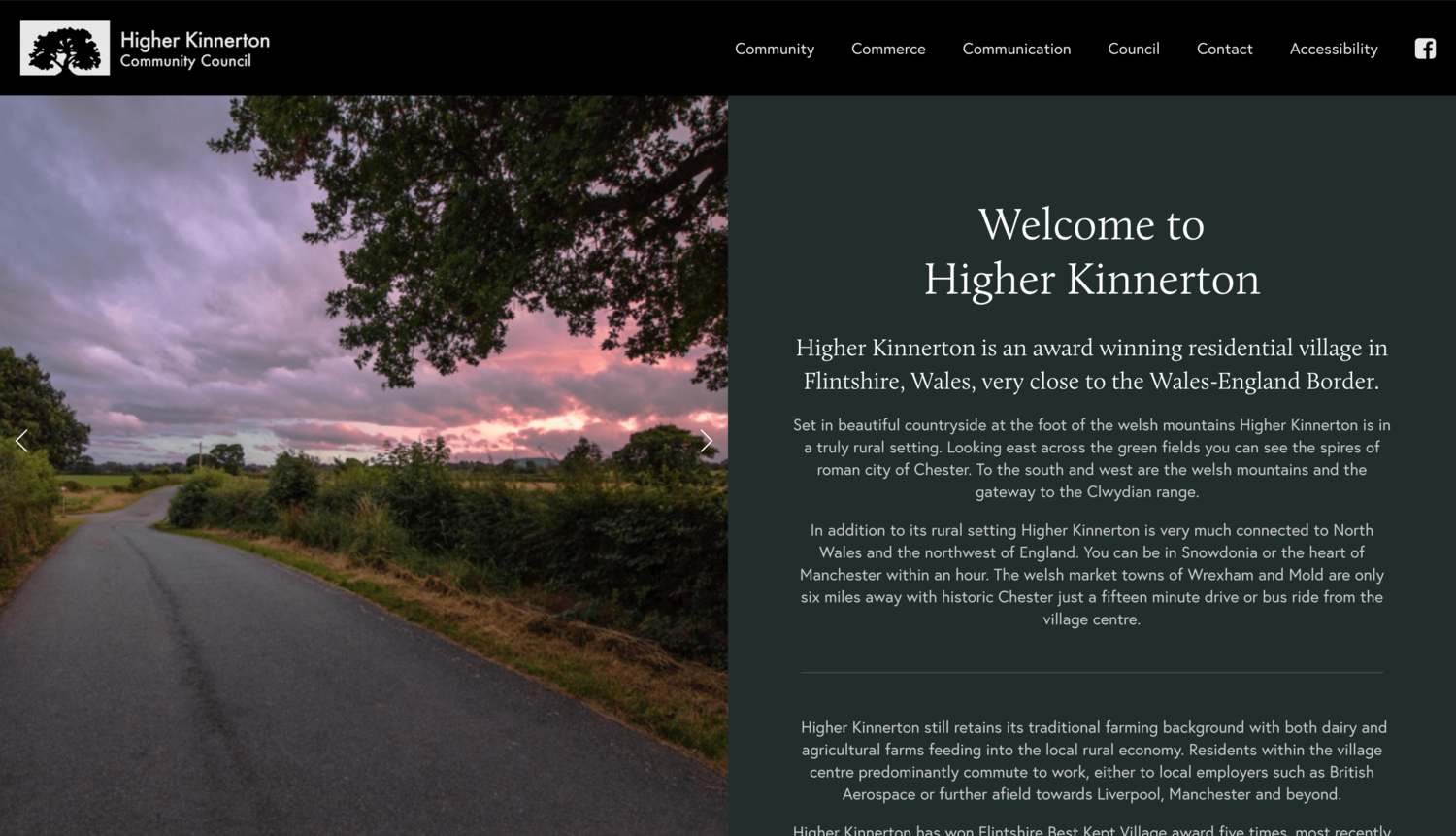 The new HKCC website.  View the live site here.