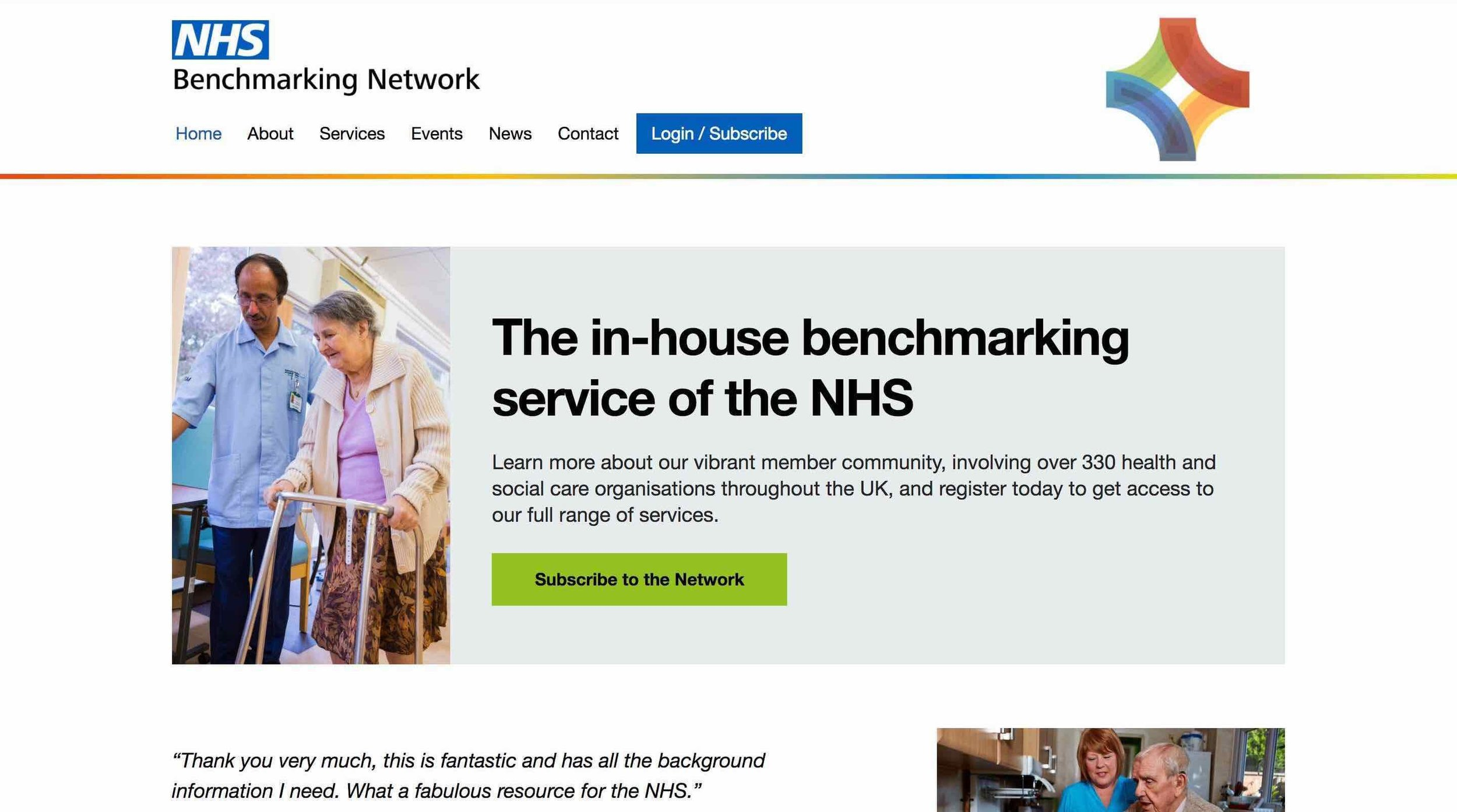 NHS Benchmarking Network: Home Page