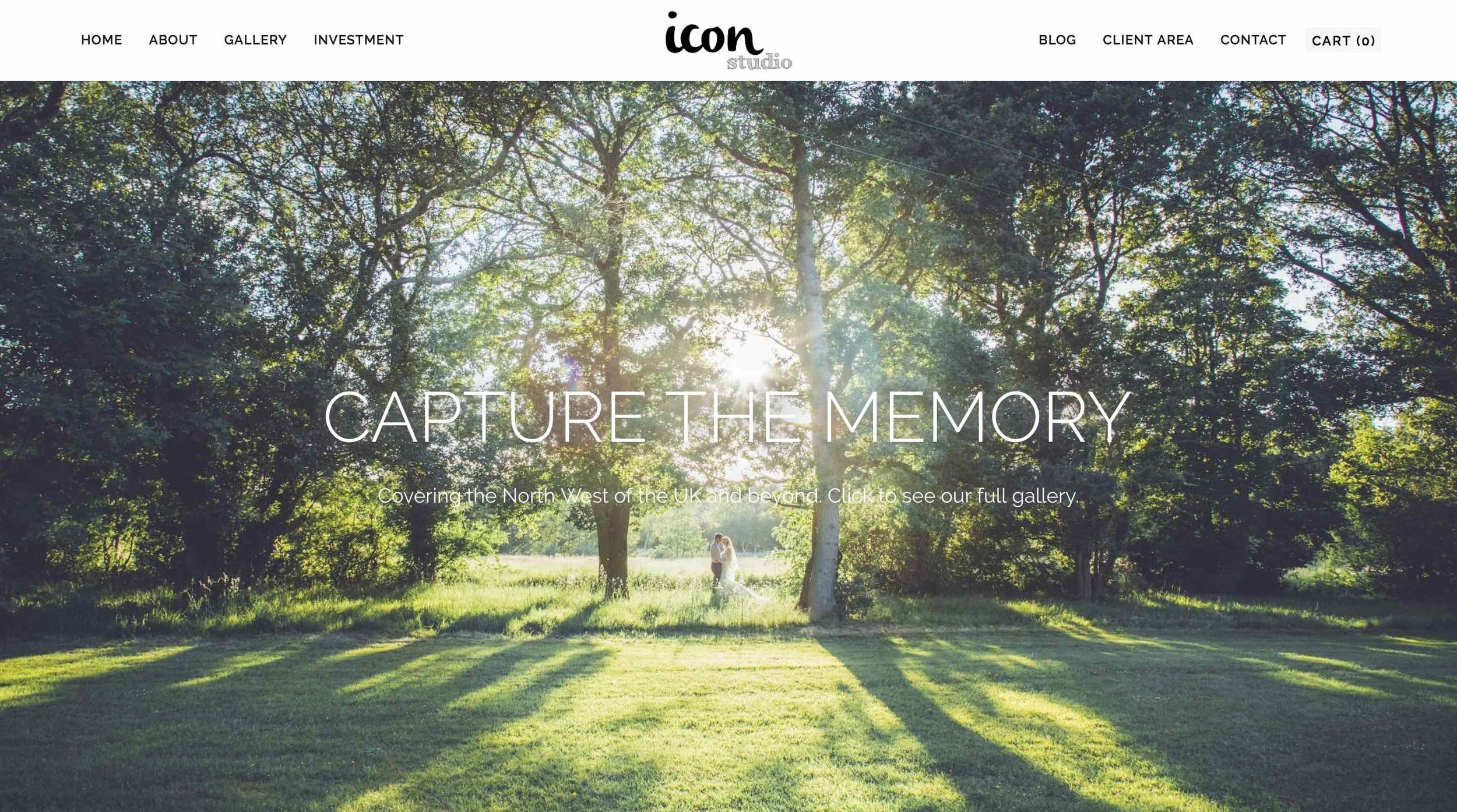 Icon Studio: Home Page