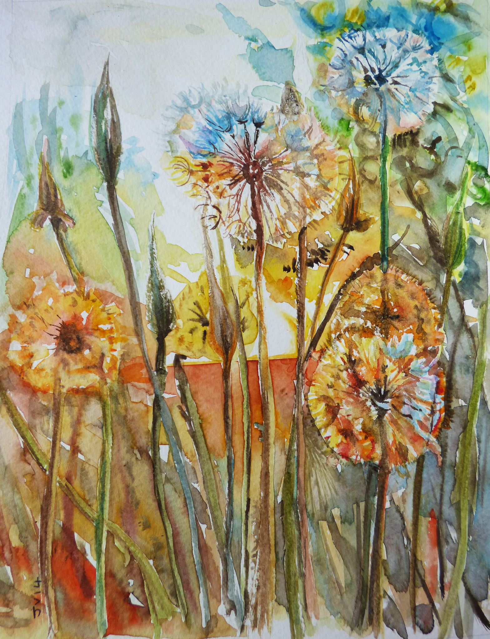 """Dandelion Dawn"" by Jane Vellender"