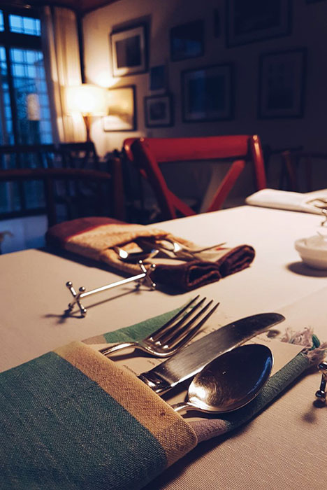 jantar na horta do Hortah