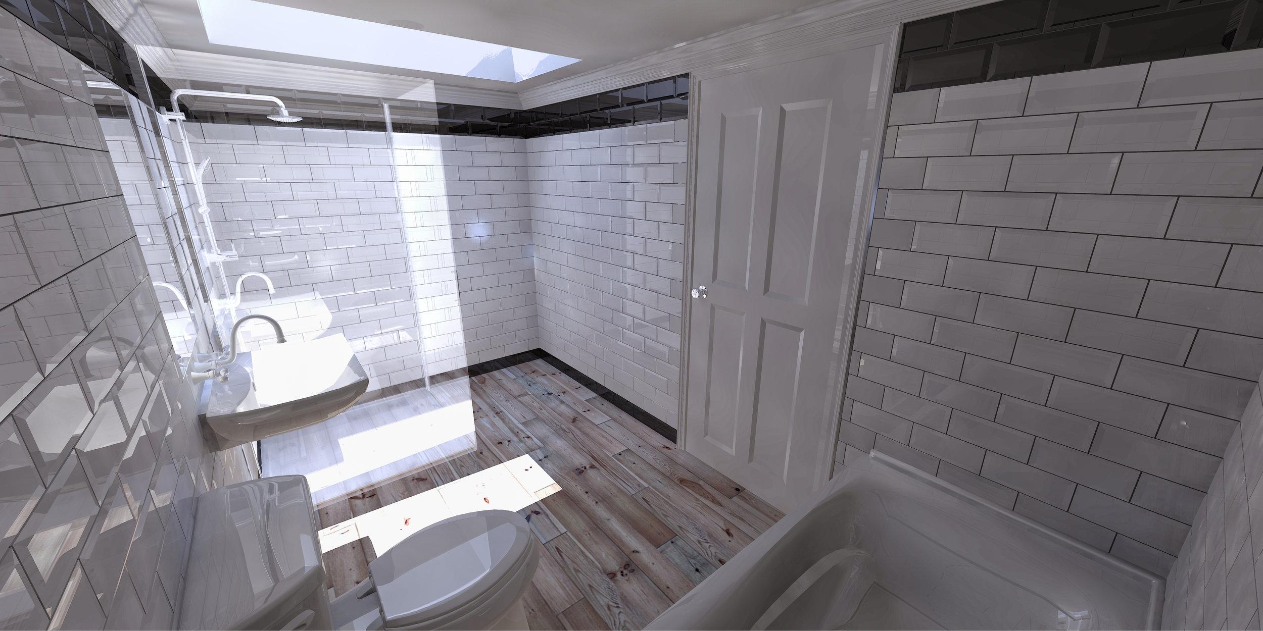 Proposed Central Bathroom