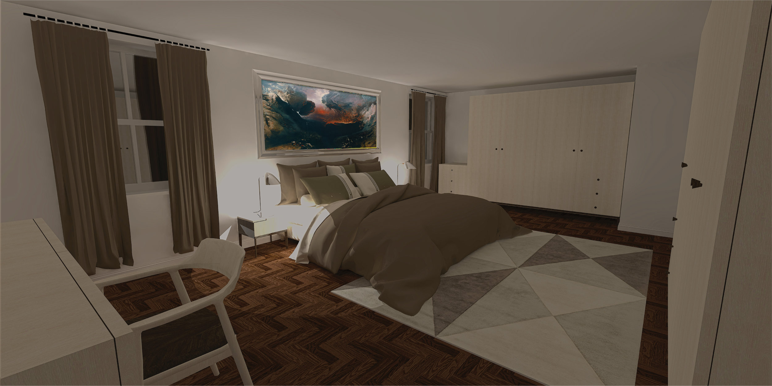 Proposed Master Bedroom
