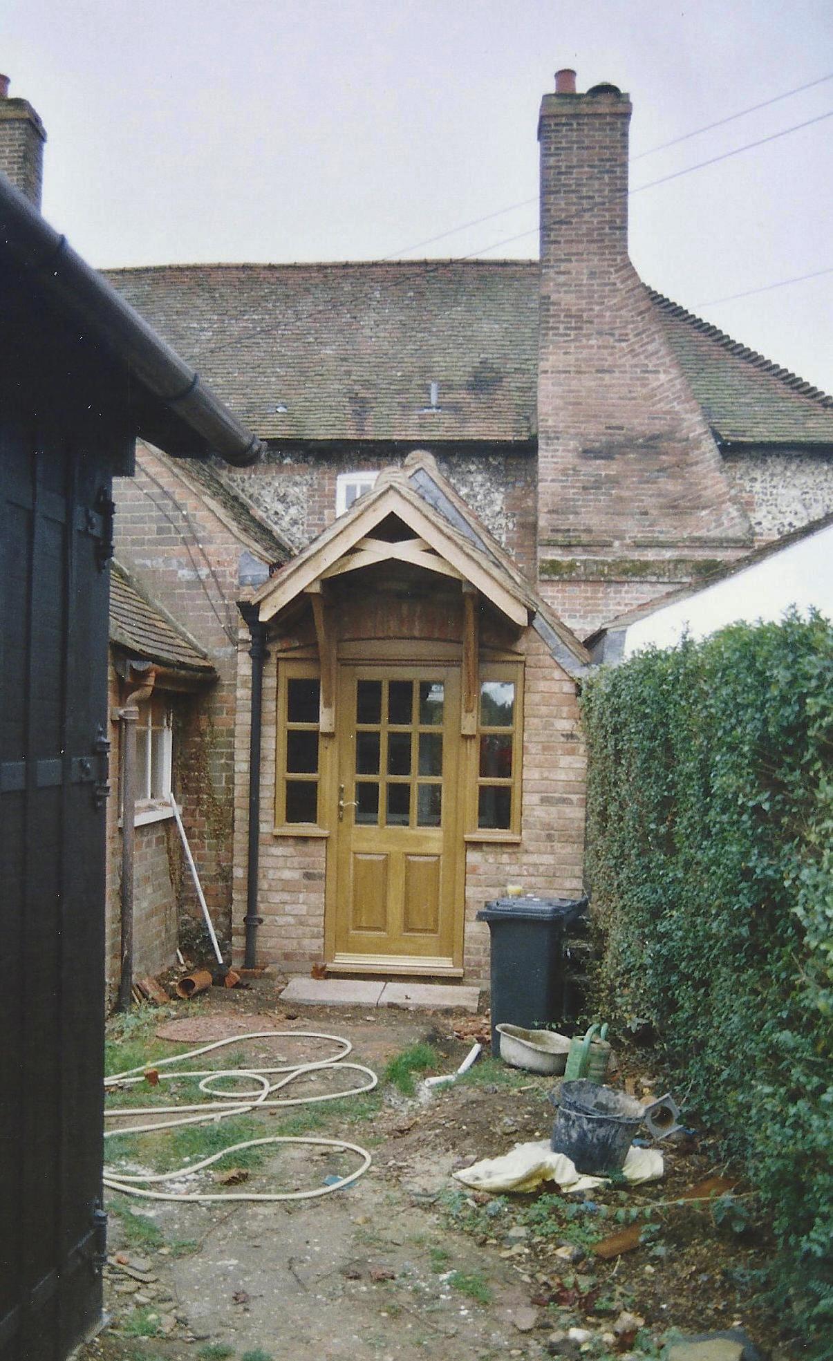 Final Entrance Configuration 2004