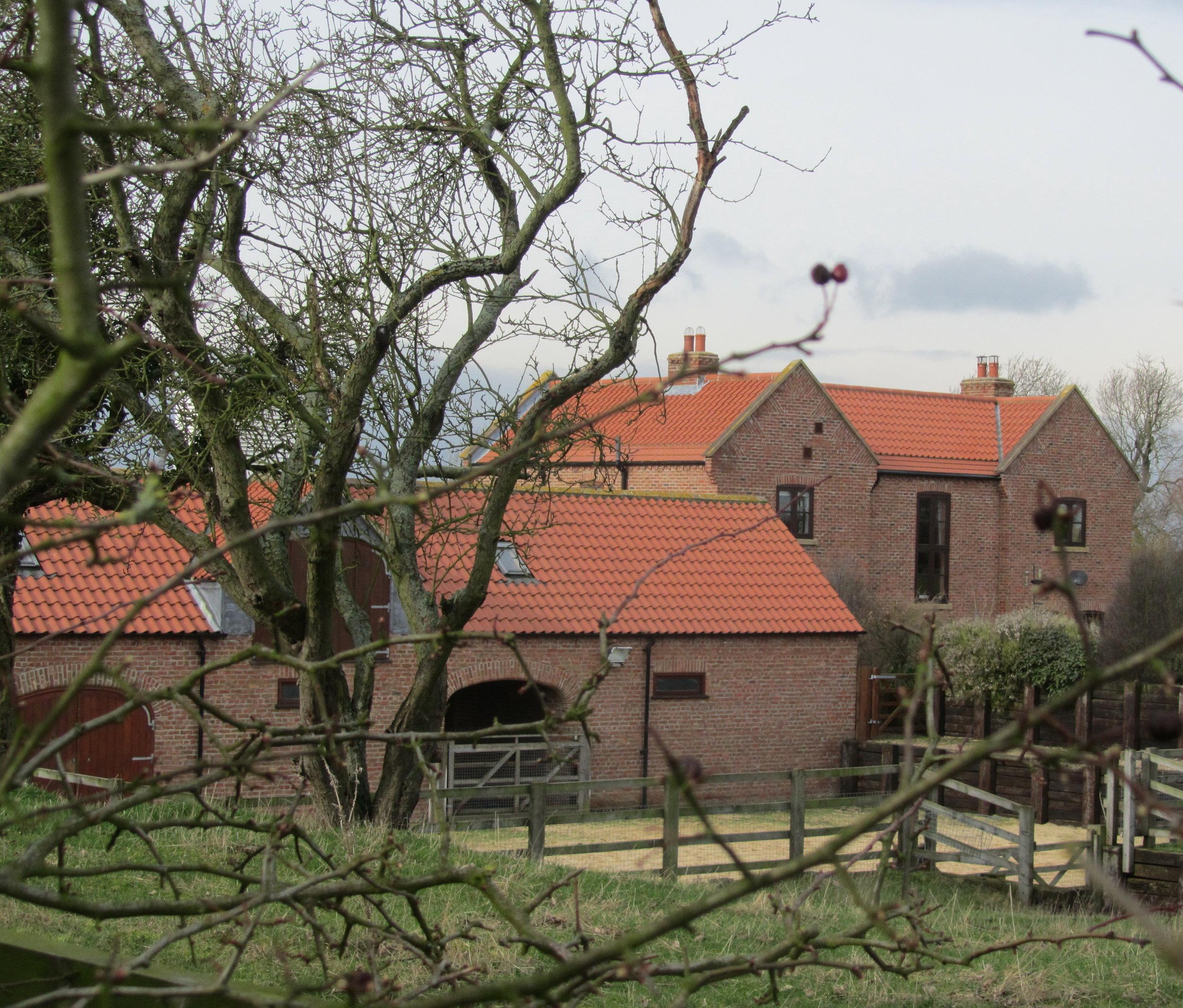 Exterior 2 - North End Farm - East Yorkshire Architects - Samuel Kendall Associates