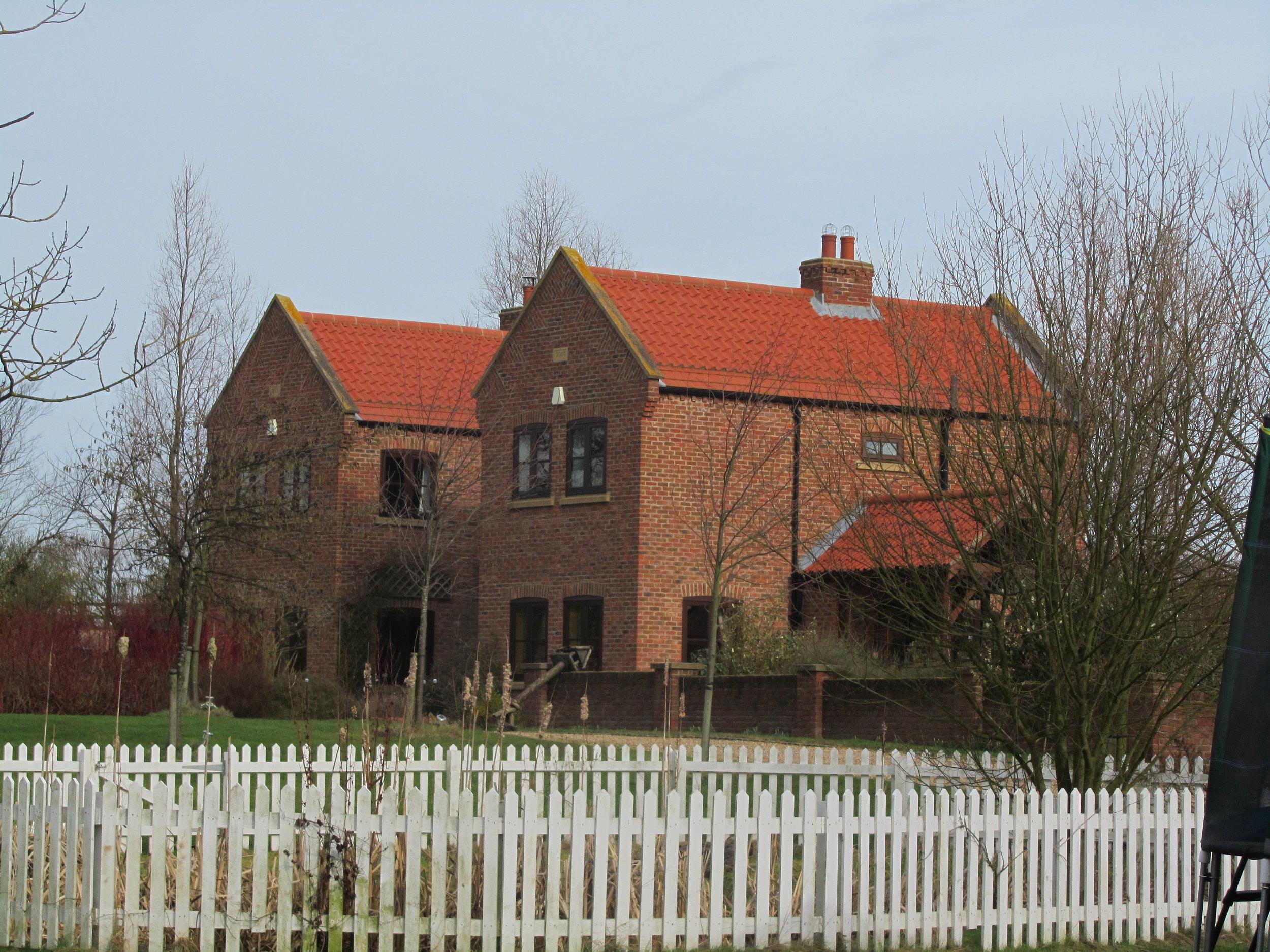 Exterior 1 - North End Farm - East Yorkshire Architects - Samuel Kendall Associates