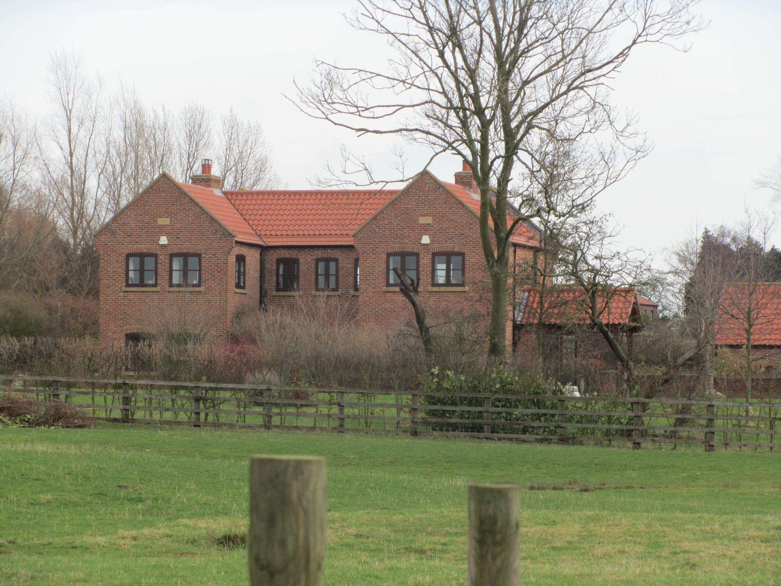Exterior 3 - North End Farm - East Yorkshire Architects - Samuel Kendall Associates
