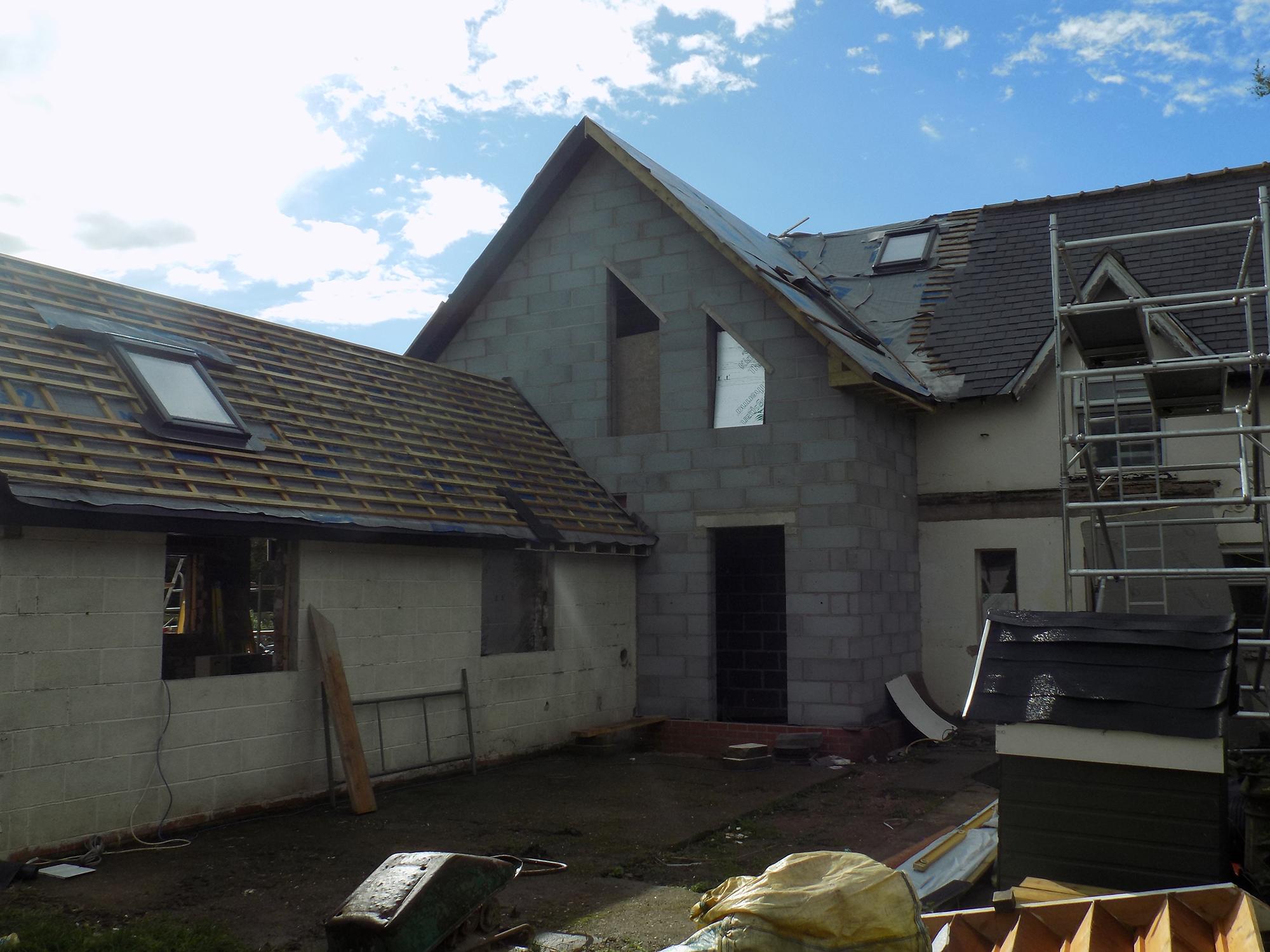Catfoss House extension