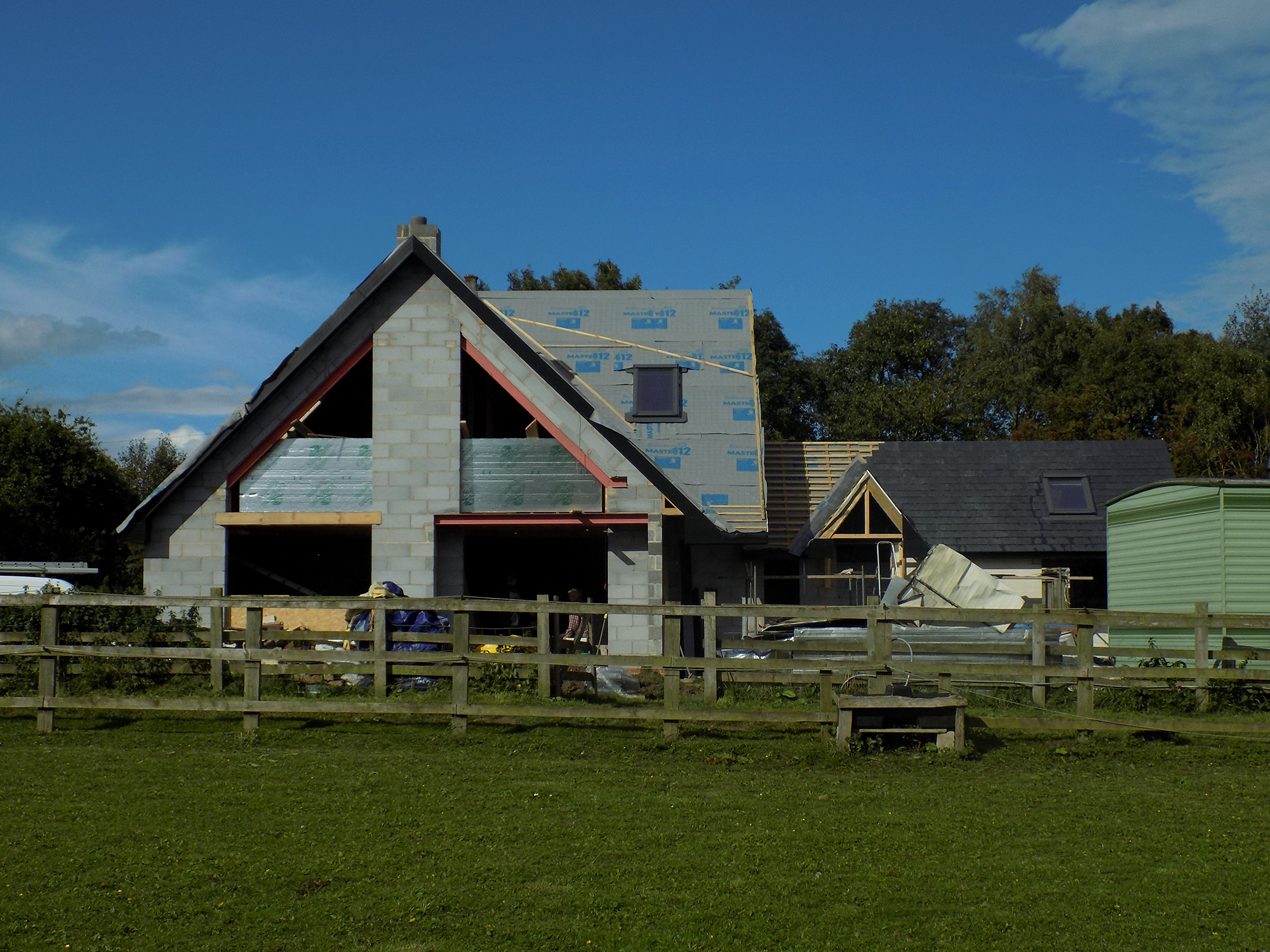 Catfoss house solar passive design