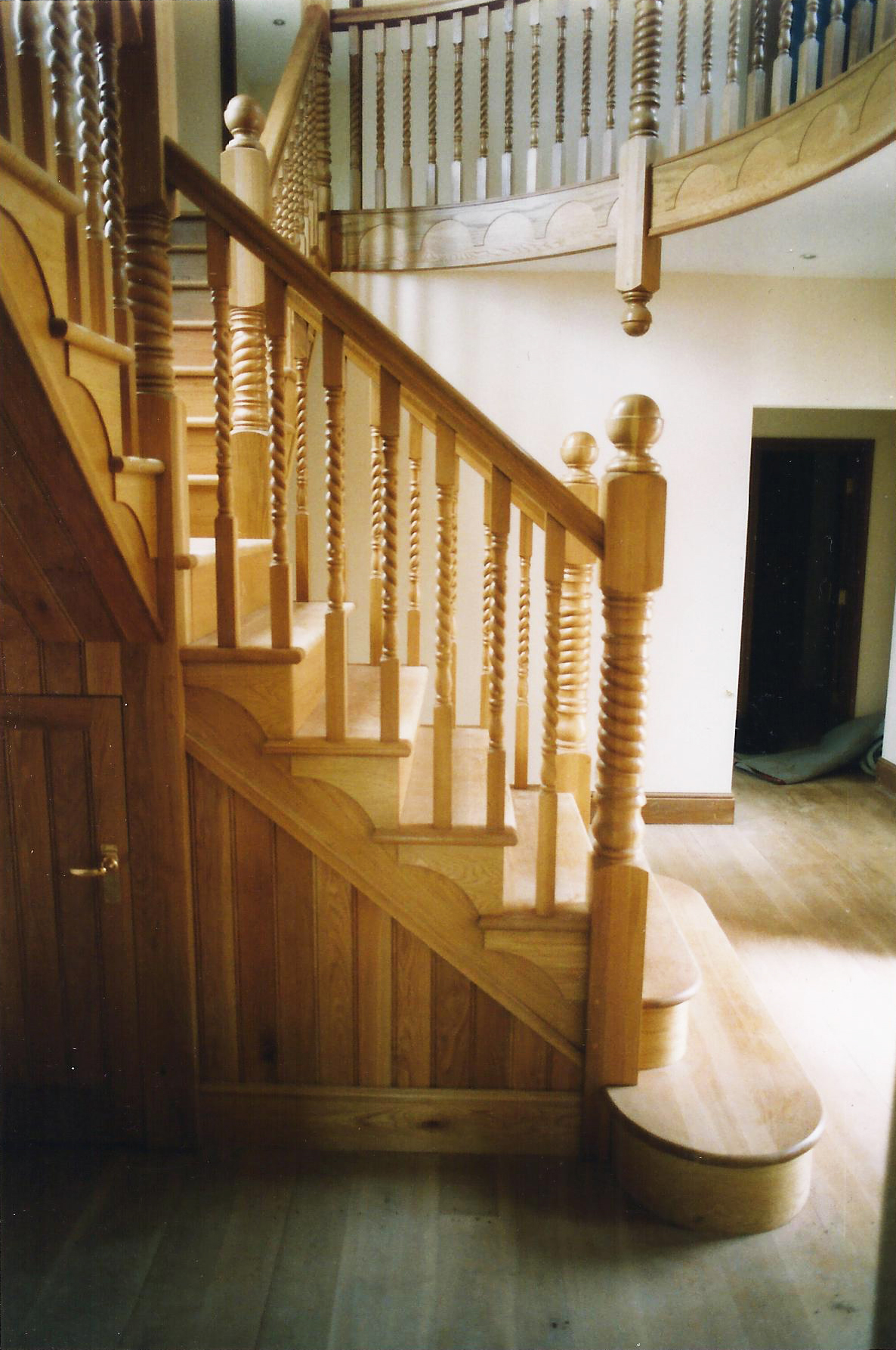 Staircase Image 2 - North End Farm - East Yorkshire Architects - Samuel Kendall Associates