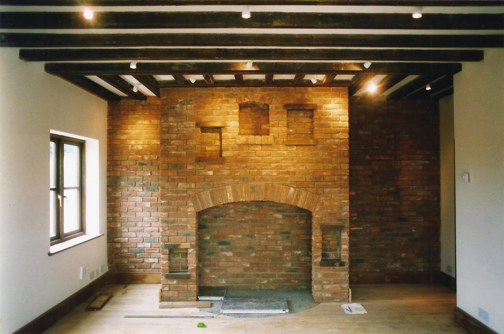 Fireplace Image 1 - North End Farm - East Yorkshire Architects - Samuel Kendall Associates