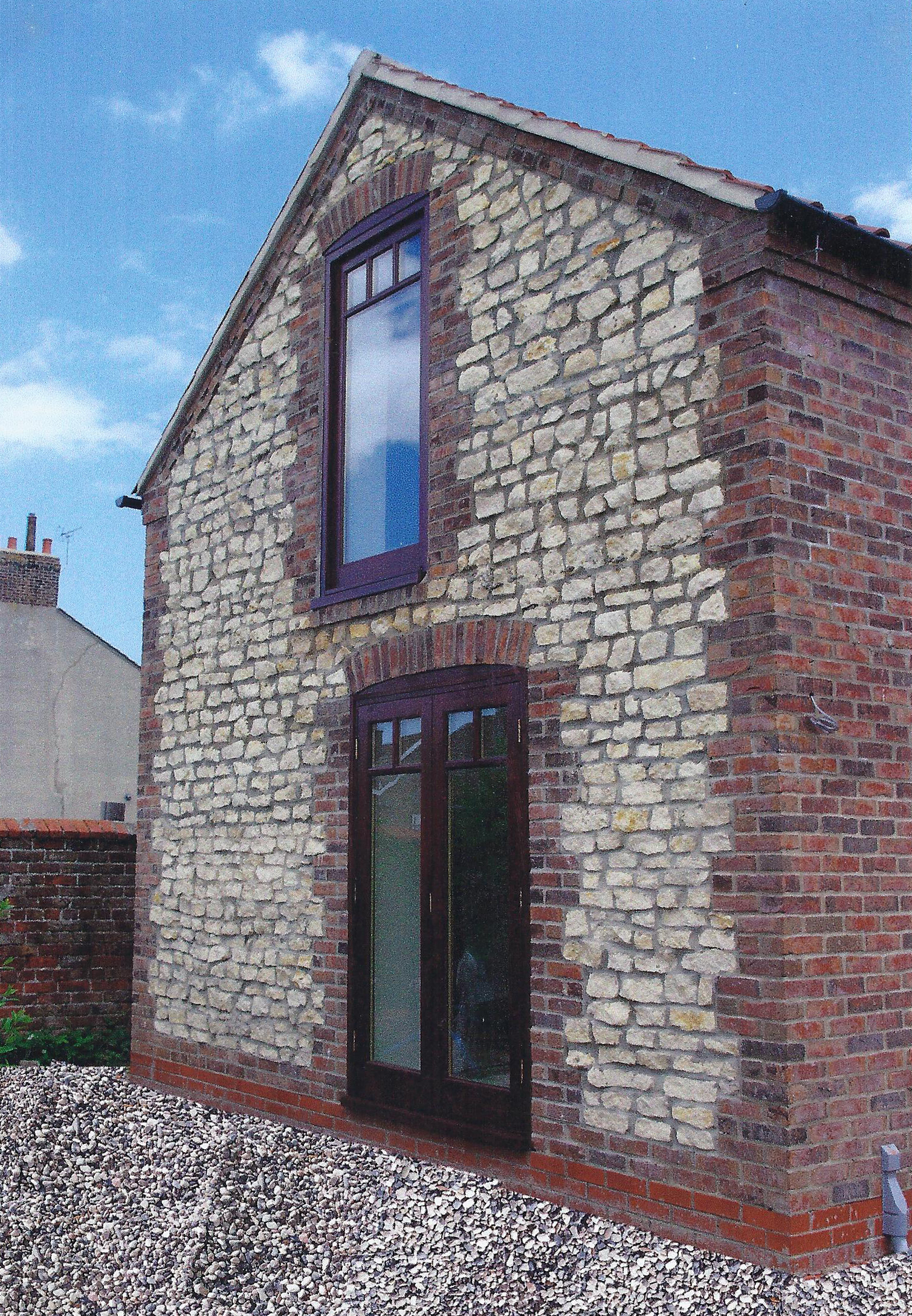 Exterior 2 - South Villa - Bridlington Architects - Samuel Kendall Associates